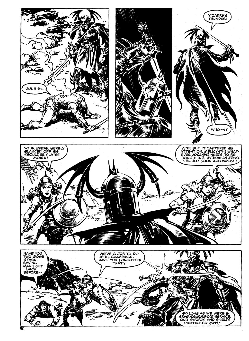 The Savage Sword Of Conan Issue #90 #91 - English 49