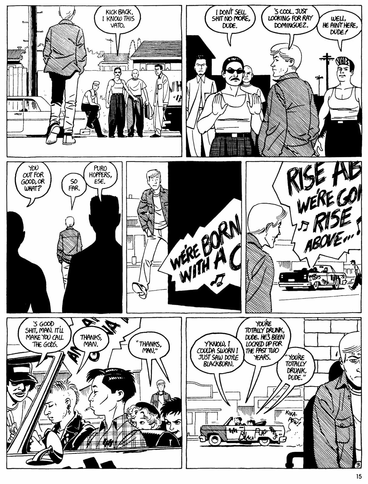 Love and Rockets (1982) Issue #31 #29 - English 17