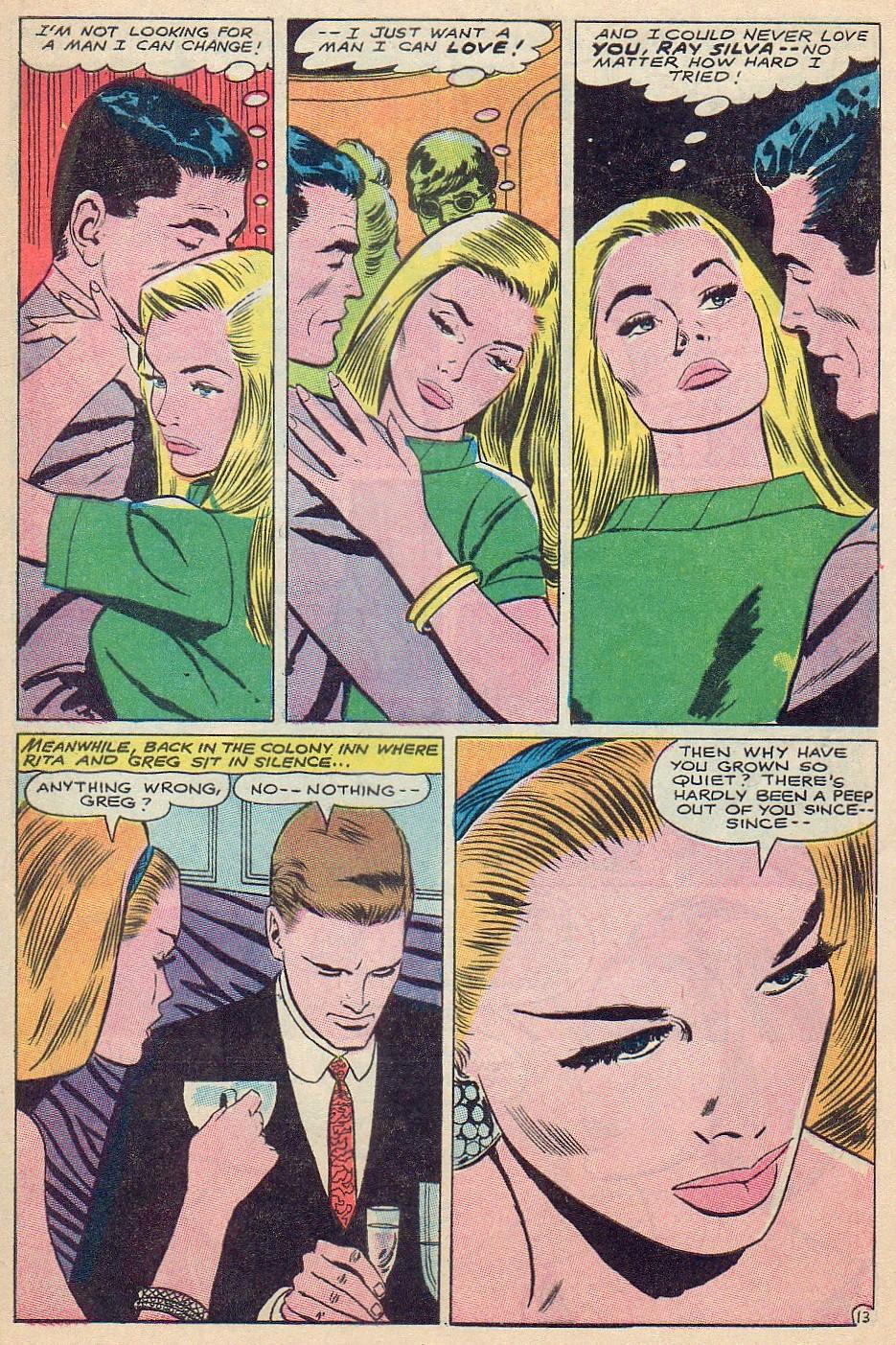 Read online Secret Hearts comic -  Issue #124 - 29