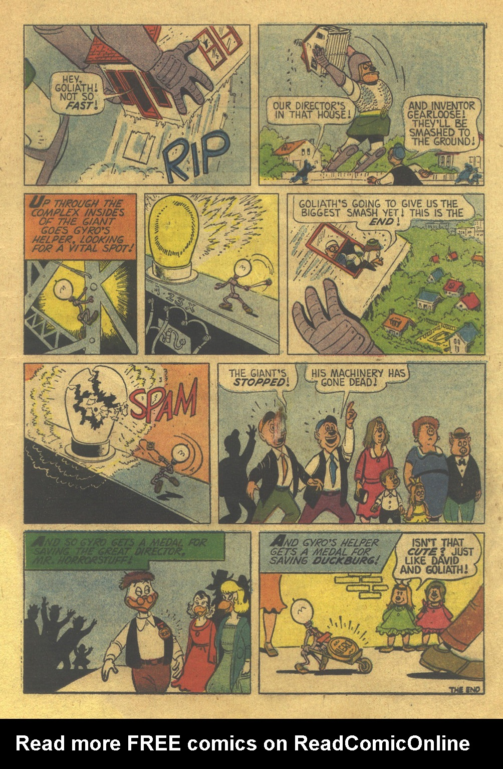 Uncle Scrooge (1953) Issue #36 #36 - English 23