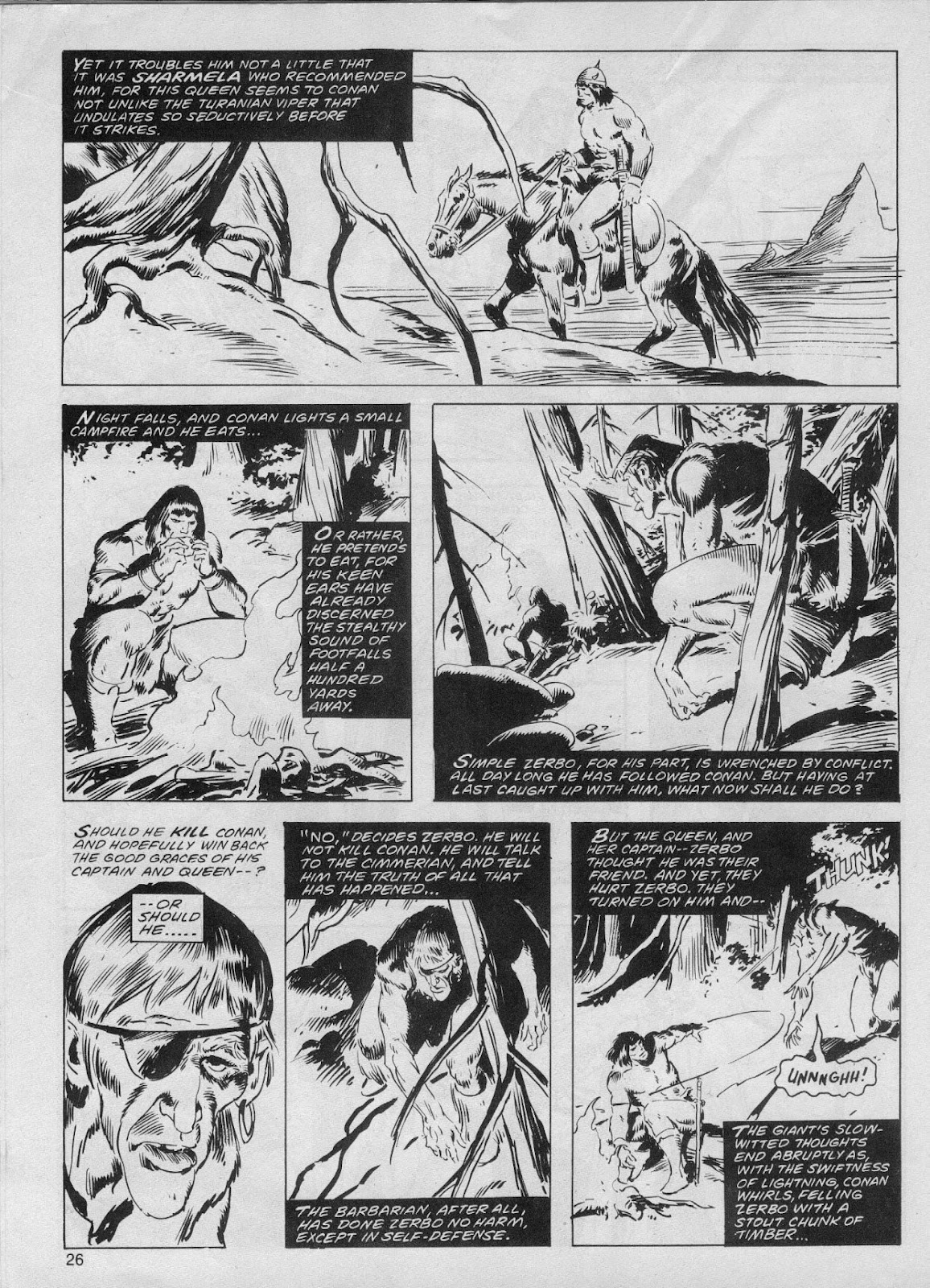 The Savage Sword Of Conan Issue #61 #62 - English 26