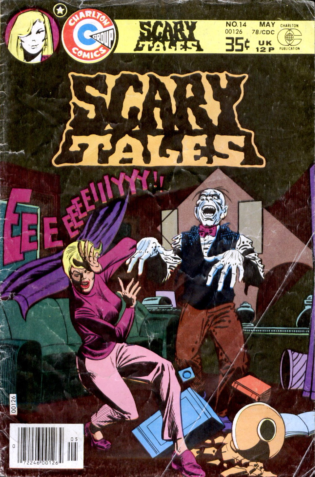 Read online Scary Tales comic -  Issue #14 - 1