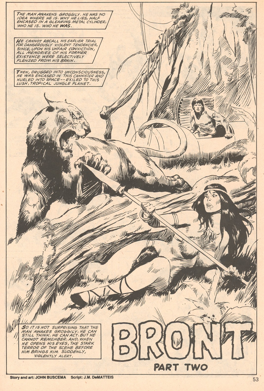 The Savage Sword Of Conan Issue #66 #67 - English 53