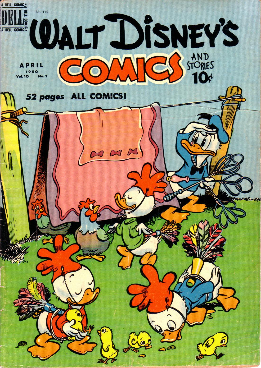 Walt Disneys Comics and Stories 115 Page 1