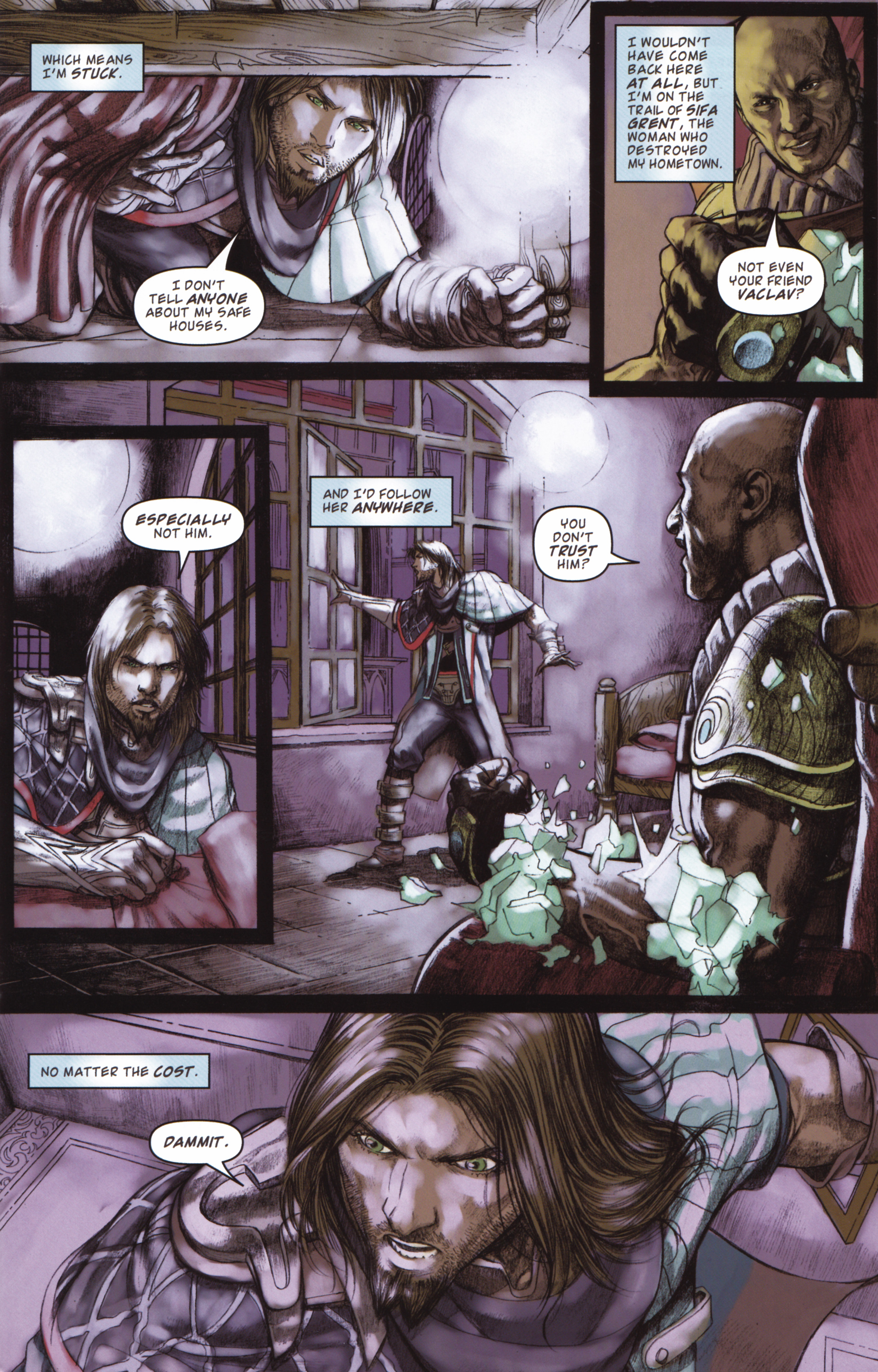 Read online Magic: The Gathering--Path of Vengeance comic -  Issue #2 - 5