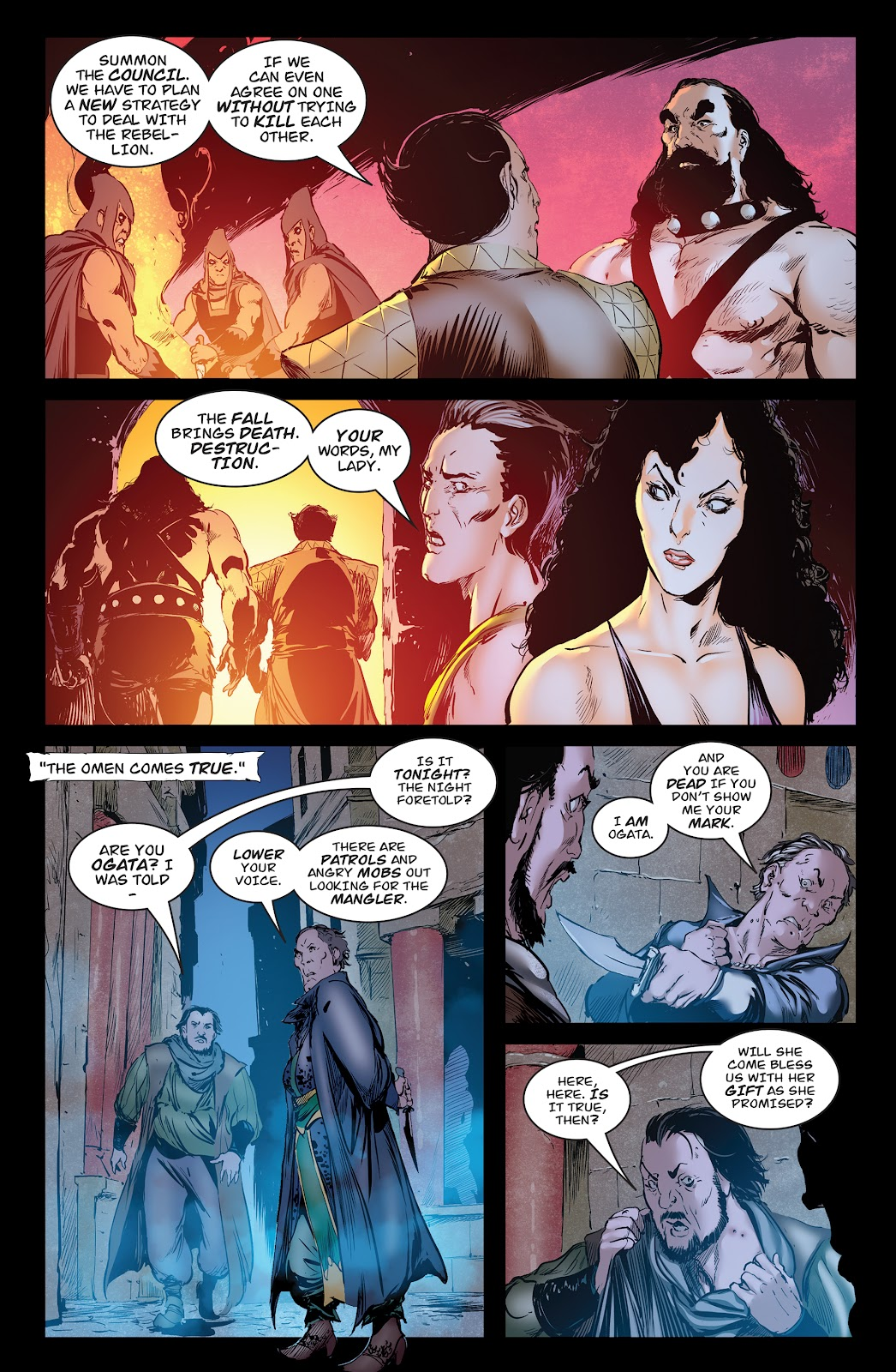 Queen of Vampires Issue #7 #7 - English 14