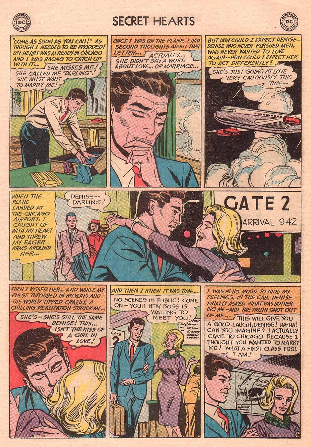Read online Secret Hearts comic -  Issue #94 - 8