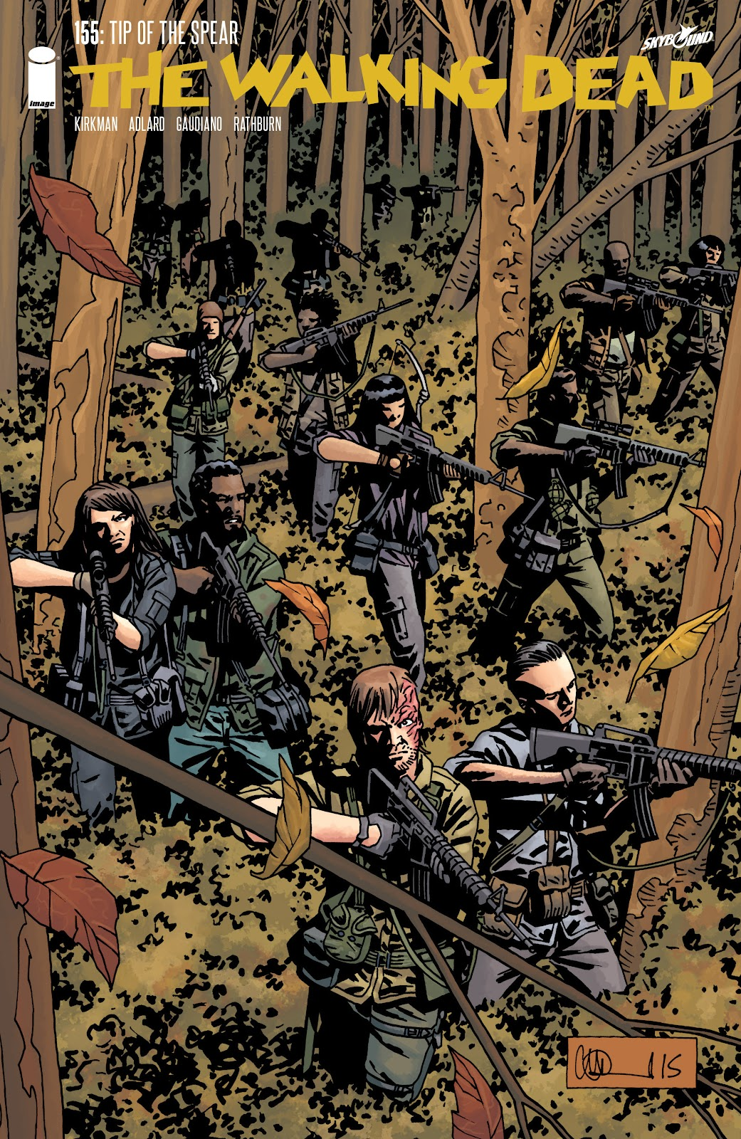 The Walking Dead Issue #155 Page 1