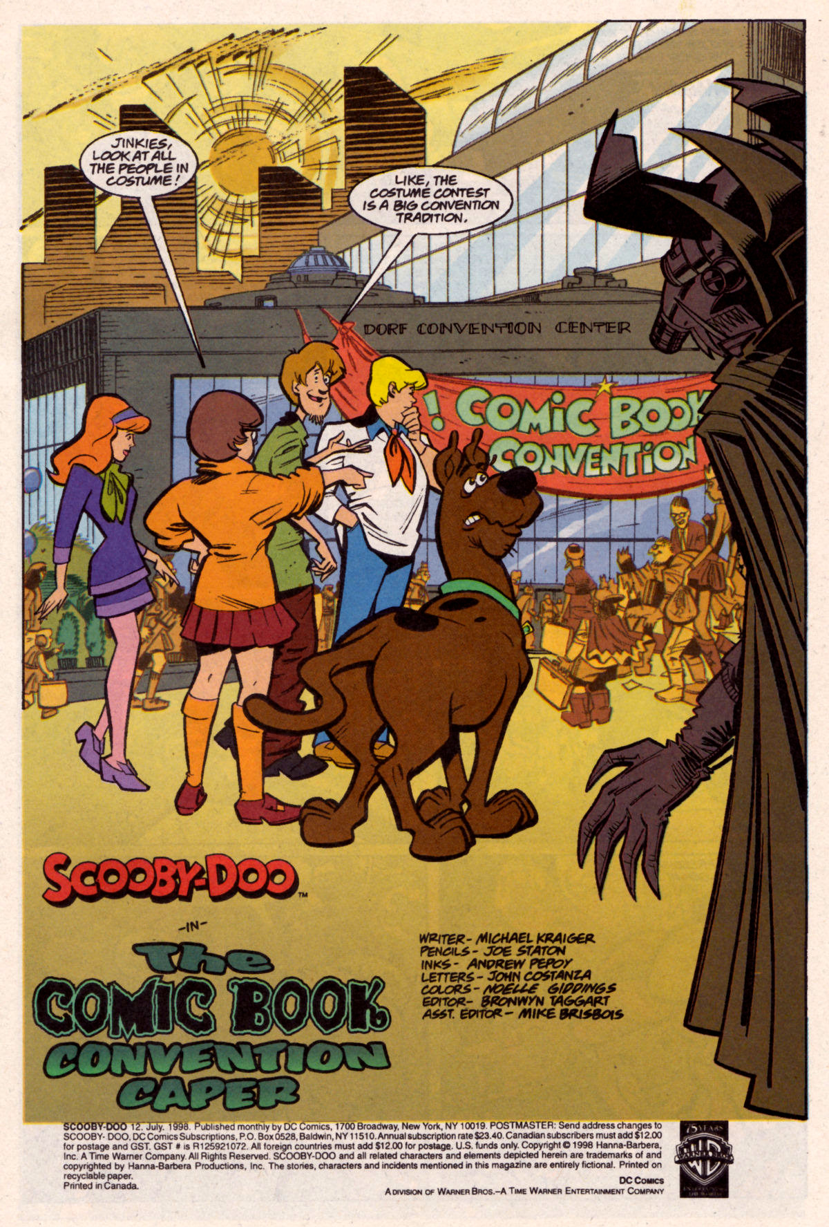 Read online Scooby-Doo (1997) comic -  Issue #12 - 2