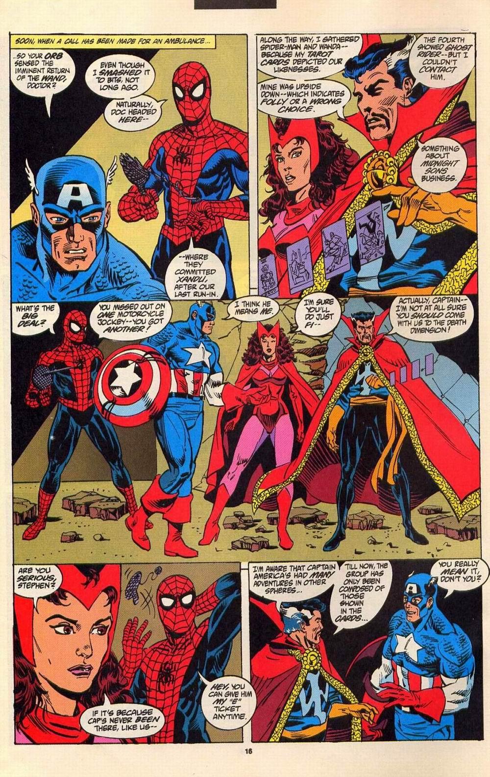Read online Secret Defenders comic -  Issue #6 - 13