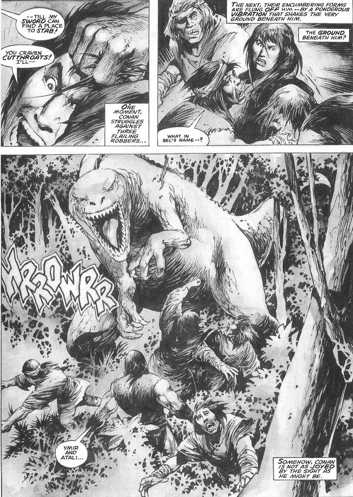 The Savage Sword Of Conan Issue #207 #208 - English 47