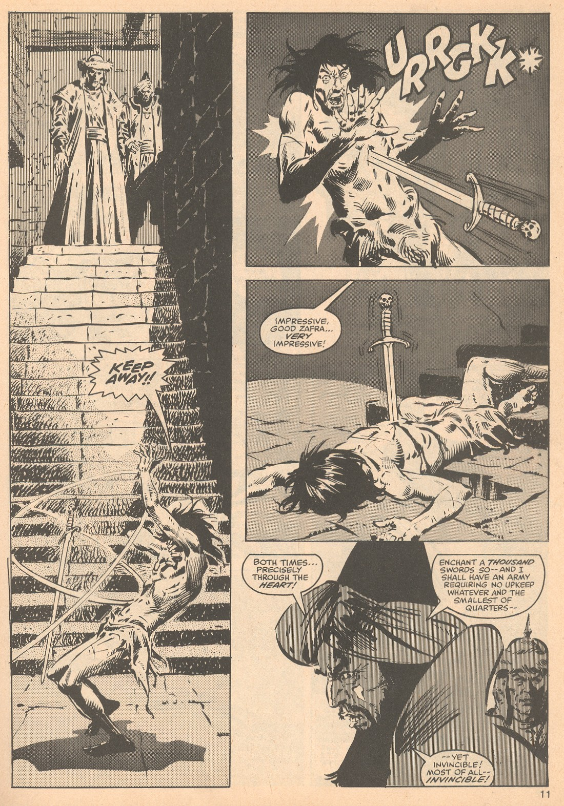 The Savage Sword Of Conan Issue #56 #57 - English 11