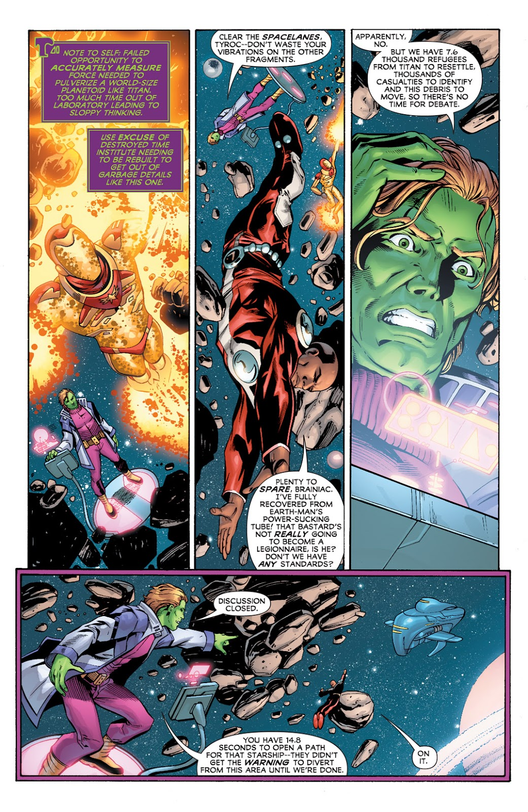 Legion of Super-Heroes (2010) Issue #2 #3 - English 5