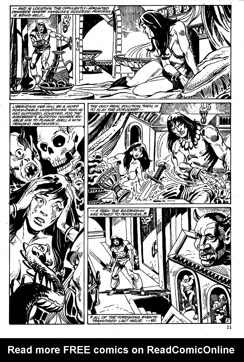 The Savage Sword Of Conan Issue #86 #87 - English 11