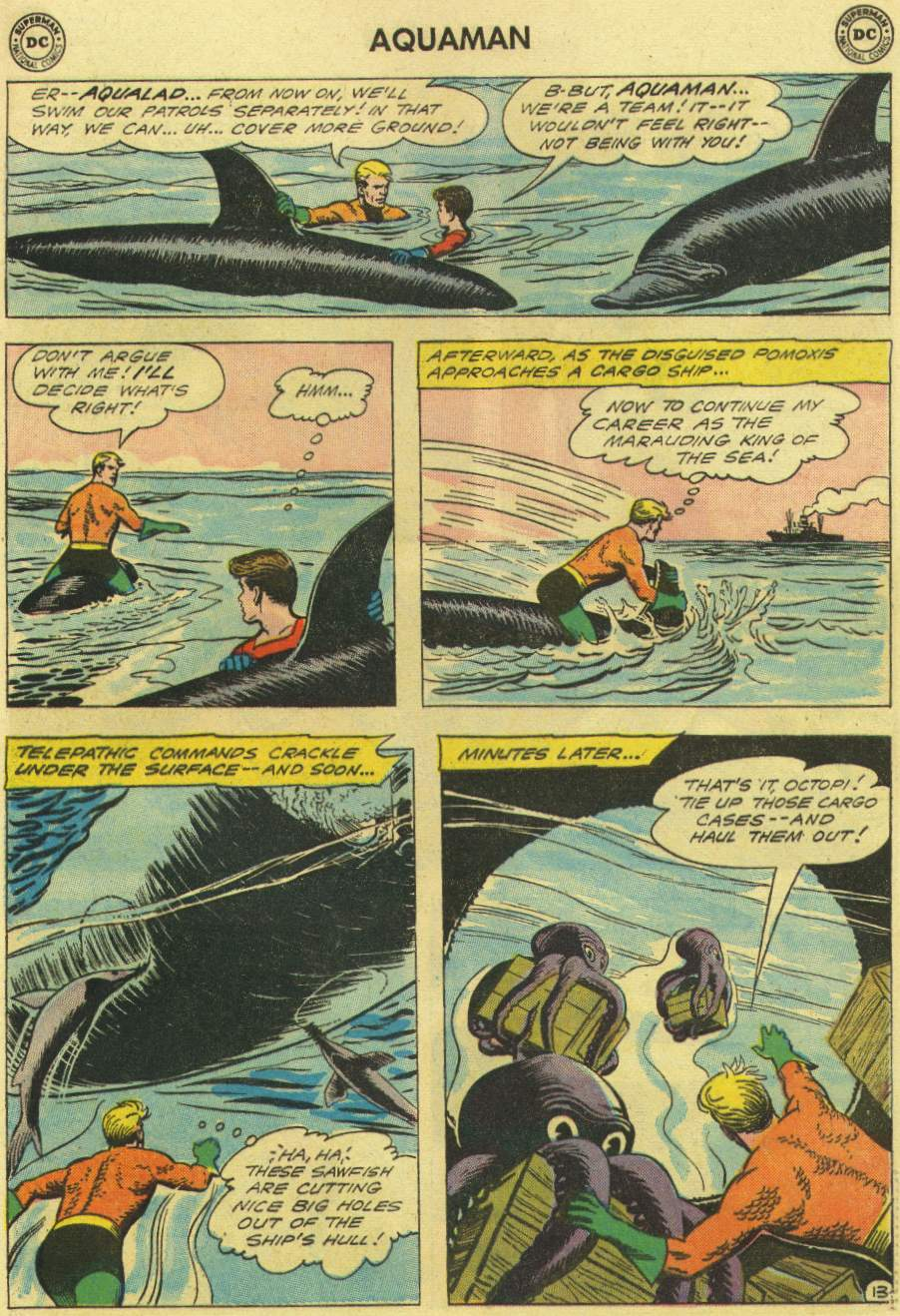 Aquaman (1962) Issue #3 #3 - English 17