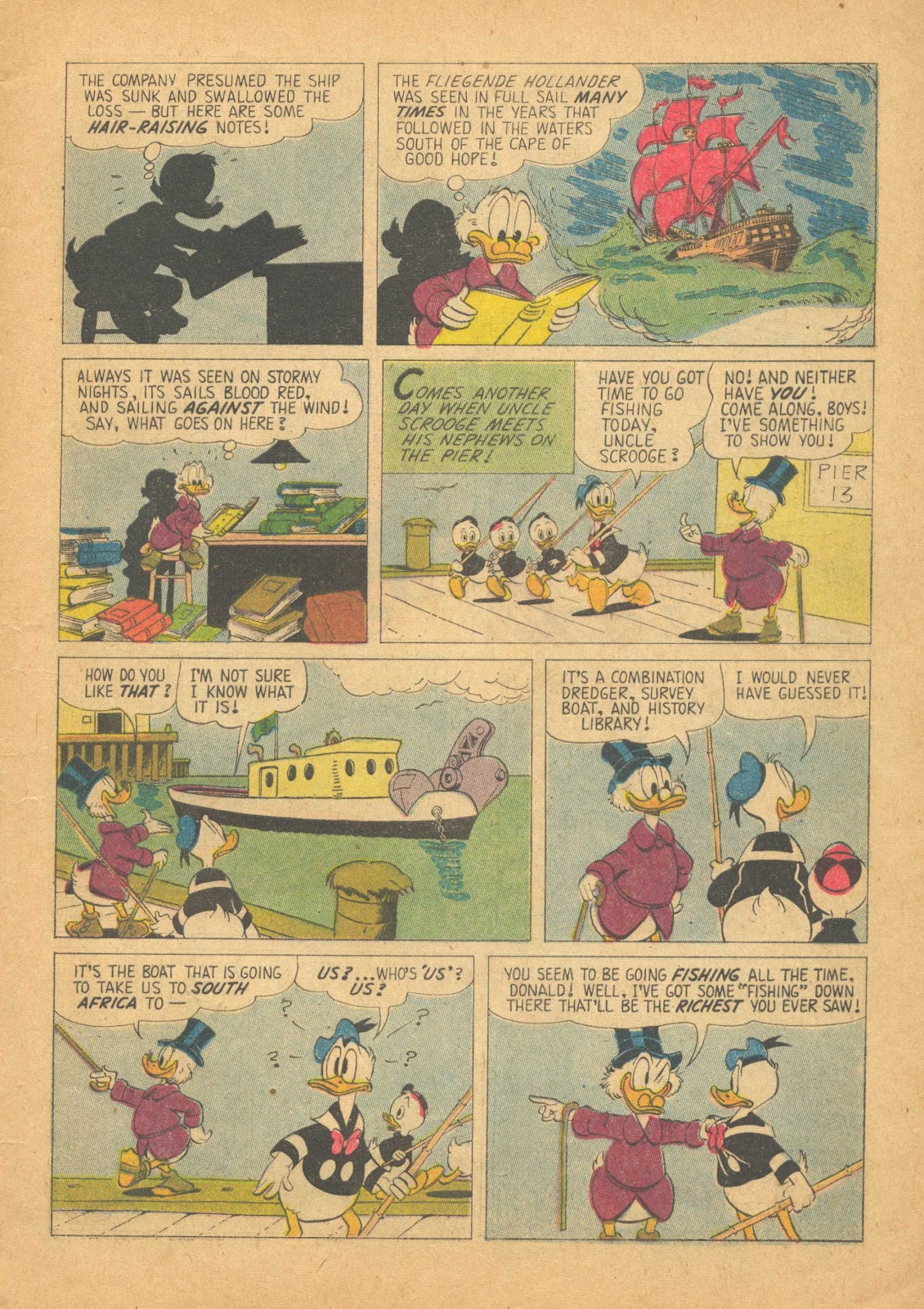Uncle Scrooge (1953) Issue #25 #25 - English 5