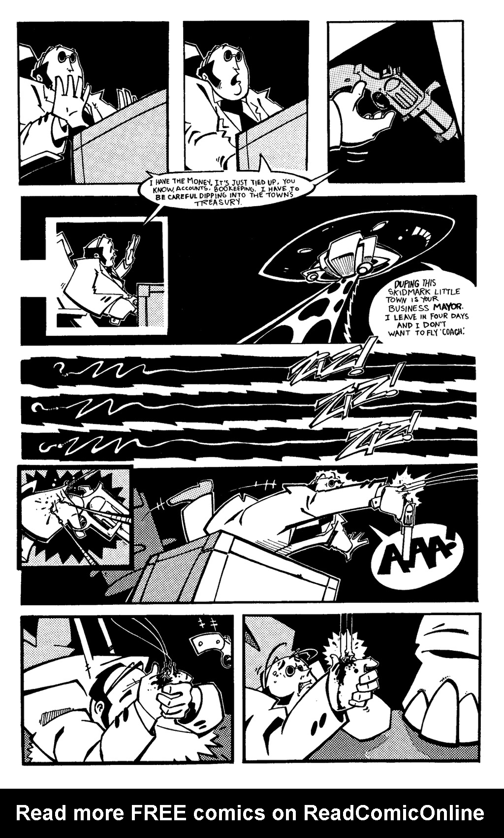 Read online Scud: The Disposable Assassin (1994) comic -  Issue #6 - 5