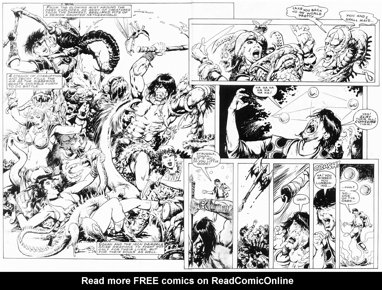 The Savage Sword Of Conan Issue #154 #155 - English 47