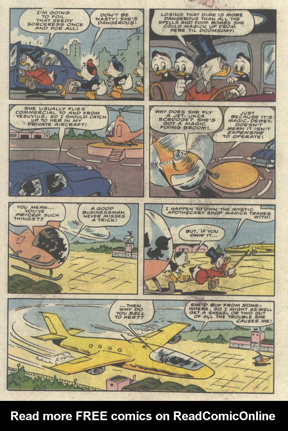 Uncle Scrooge (1953) Issue #232 #232 - English 18