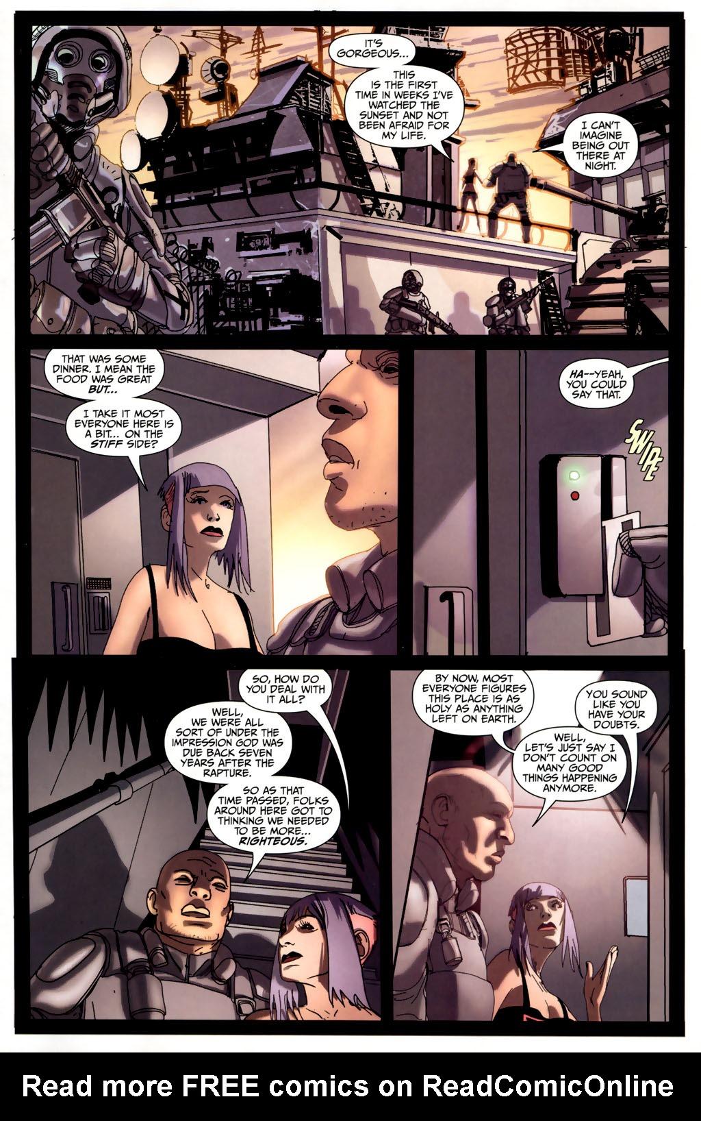 Read online Strange Girl comic -  Issue #6 - 5