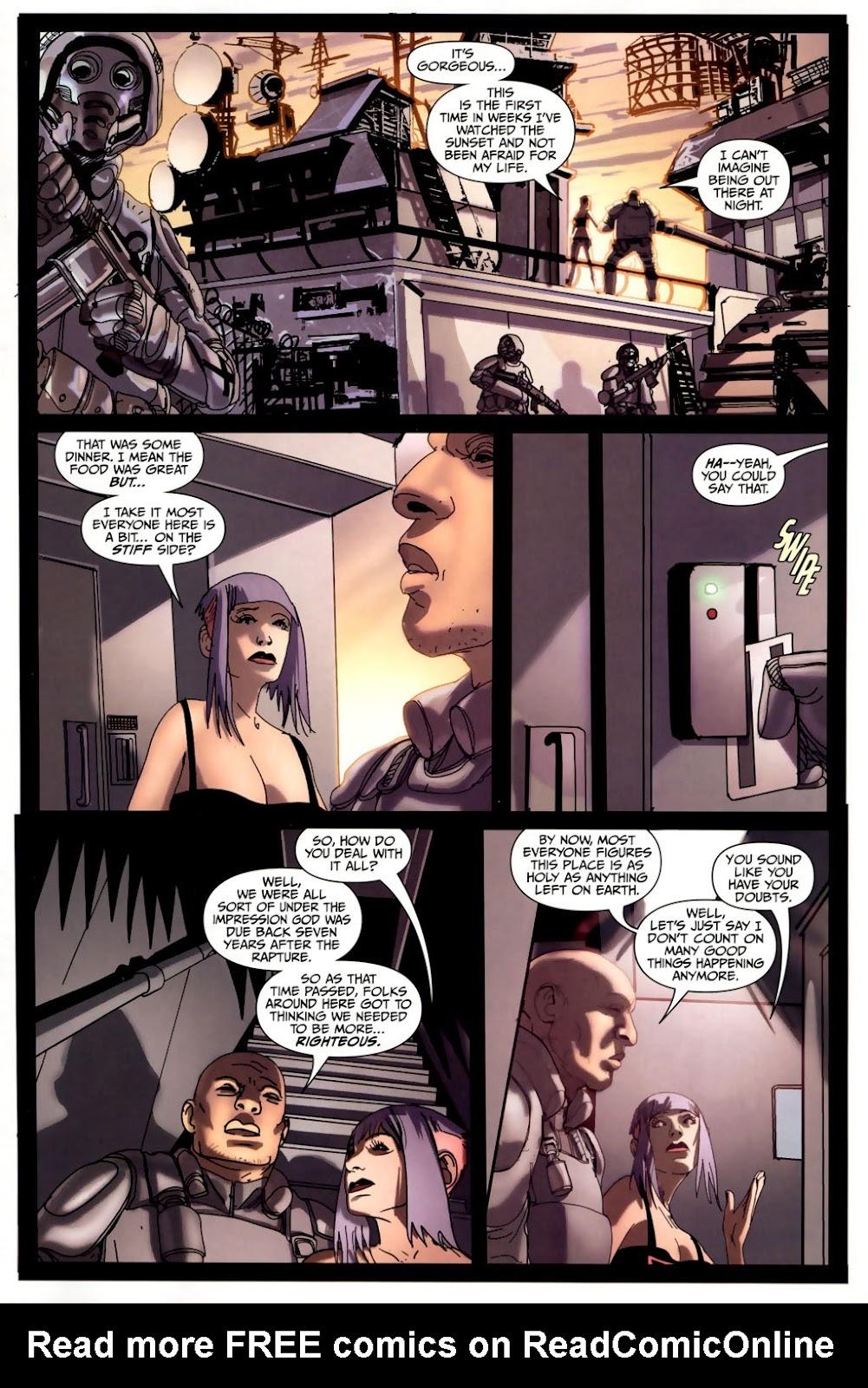 Strange Girl Issue #6 #7 - English 5