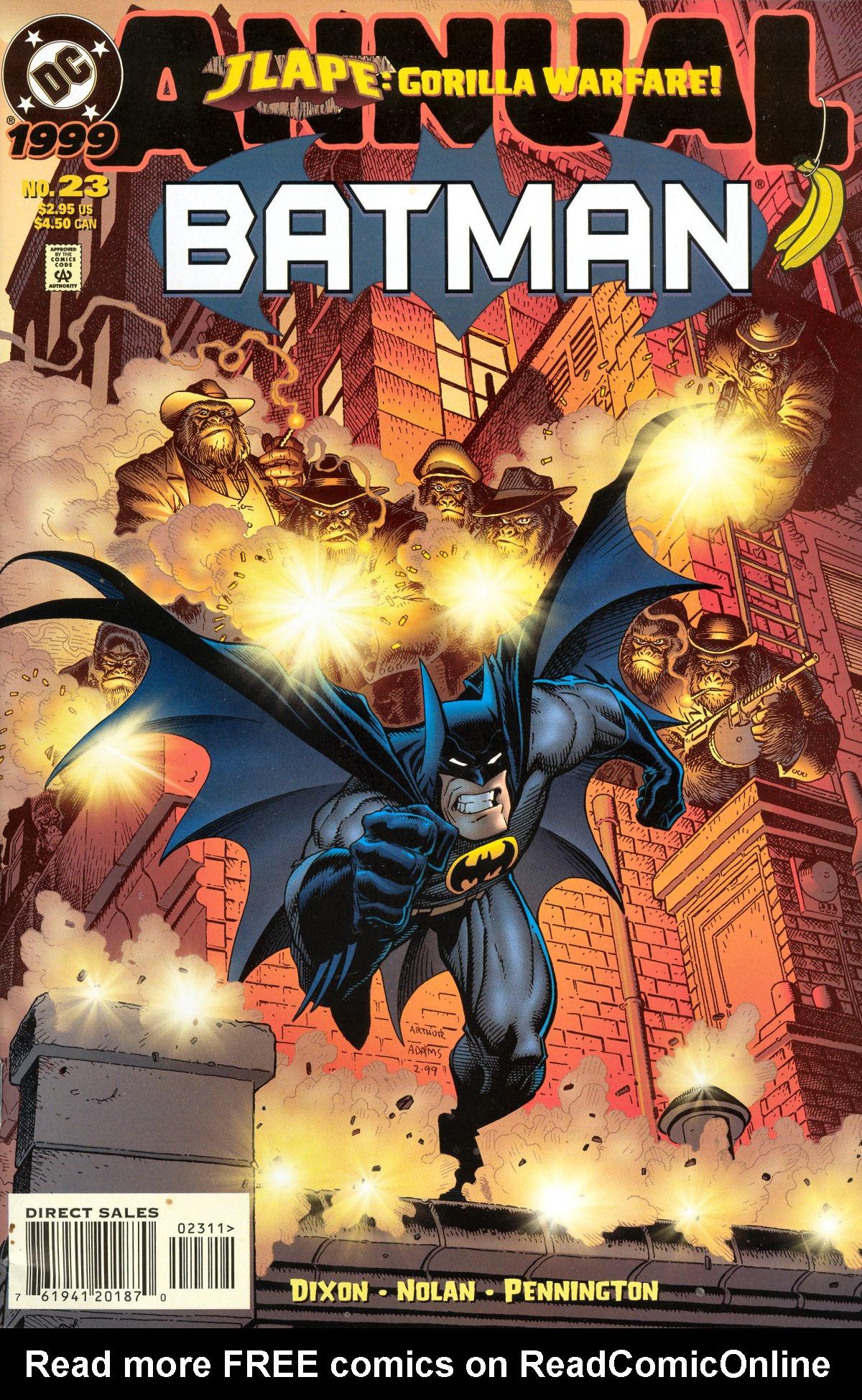 Batman (1940) _Annual_23 Page 1