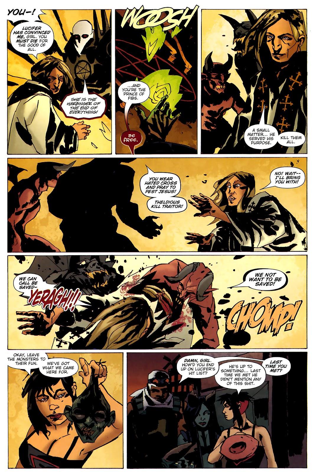 Strange Girl Issue #15 #16 - English 19
