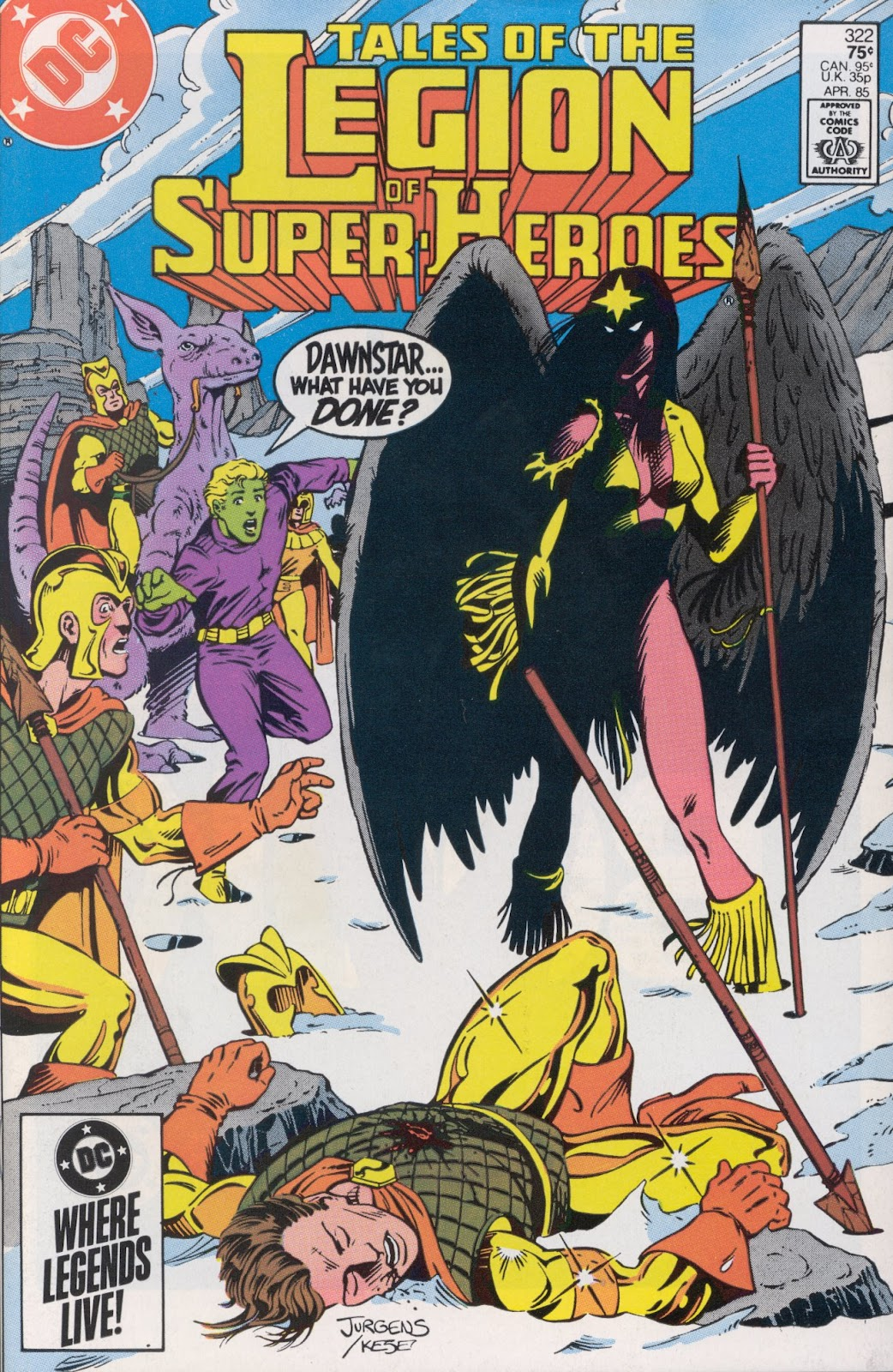 Tales of the Legion Issue #322 #9 - English 1