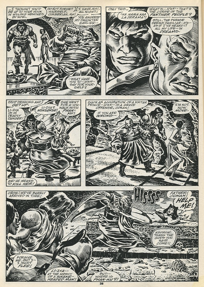 The Savage Sword Of Conan Issue #192 #193 - English 40