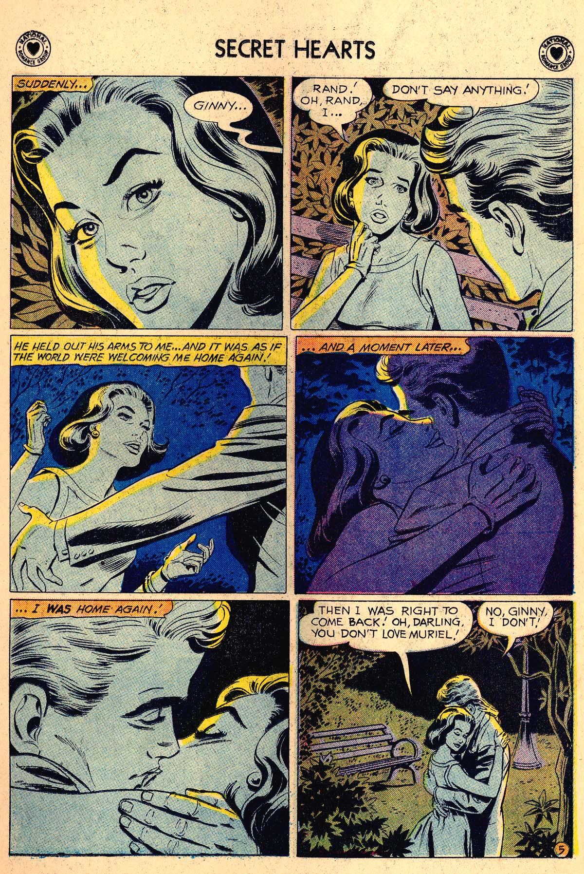 Read online Secret Hearts comic -  Issue #62 - 7