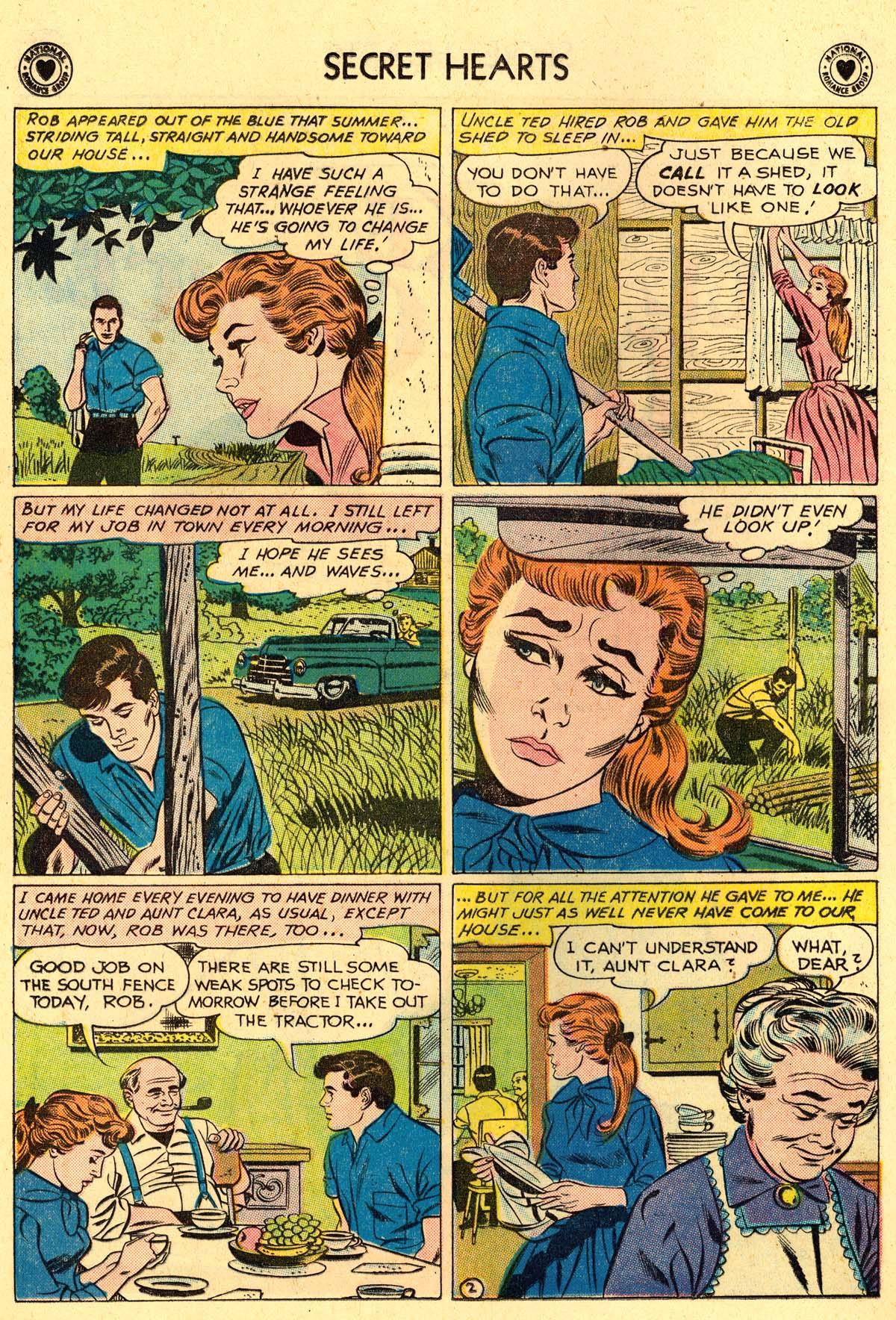 Read online Secret Hearts comic -  Issue #62 - 28