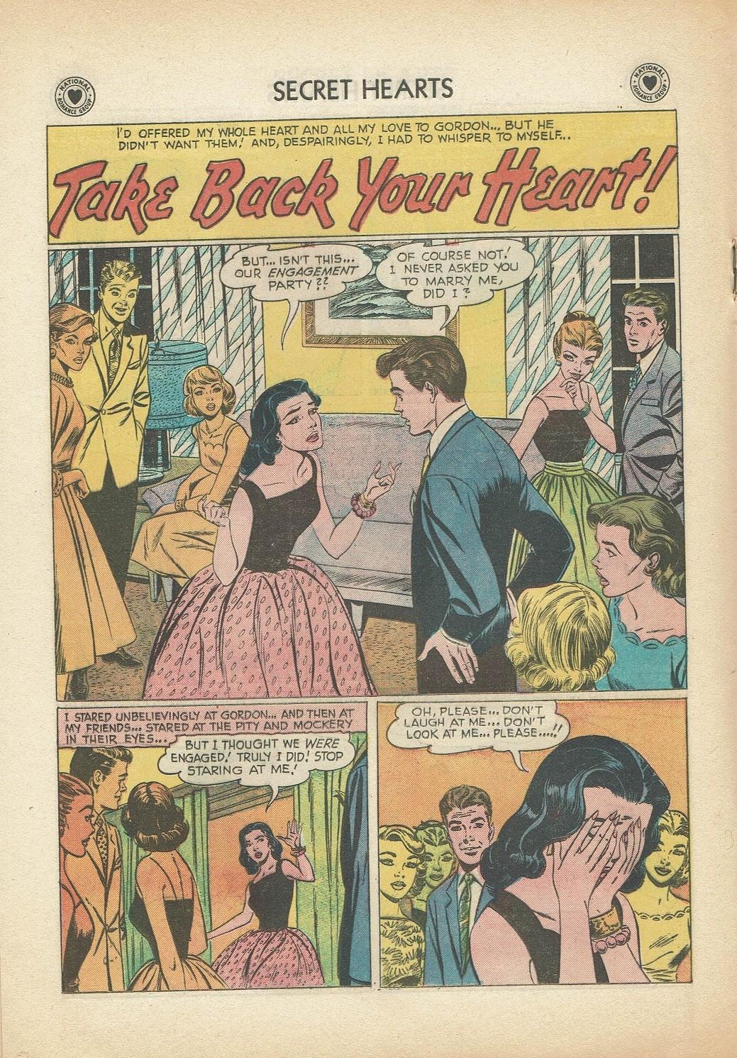 Read online Secret Hearts comic -  Issue #47 - 18