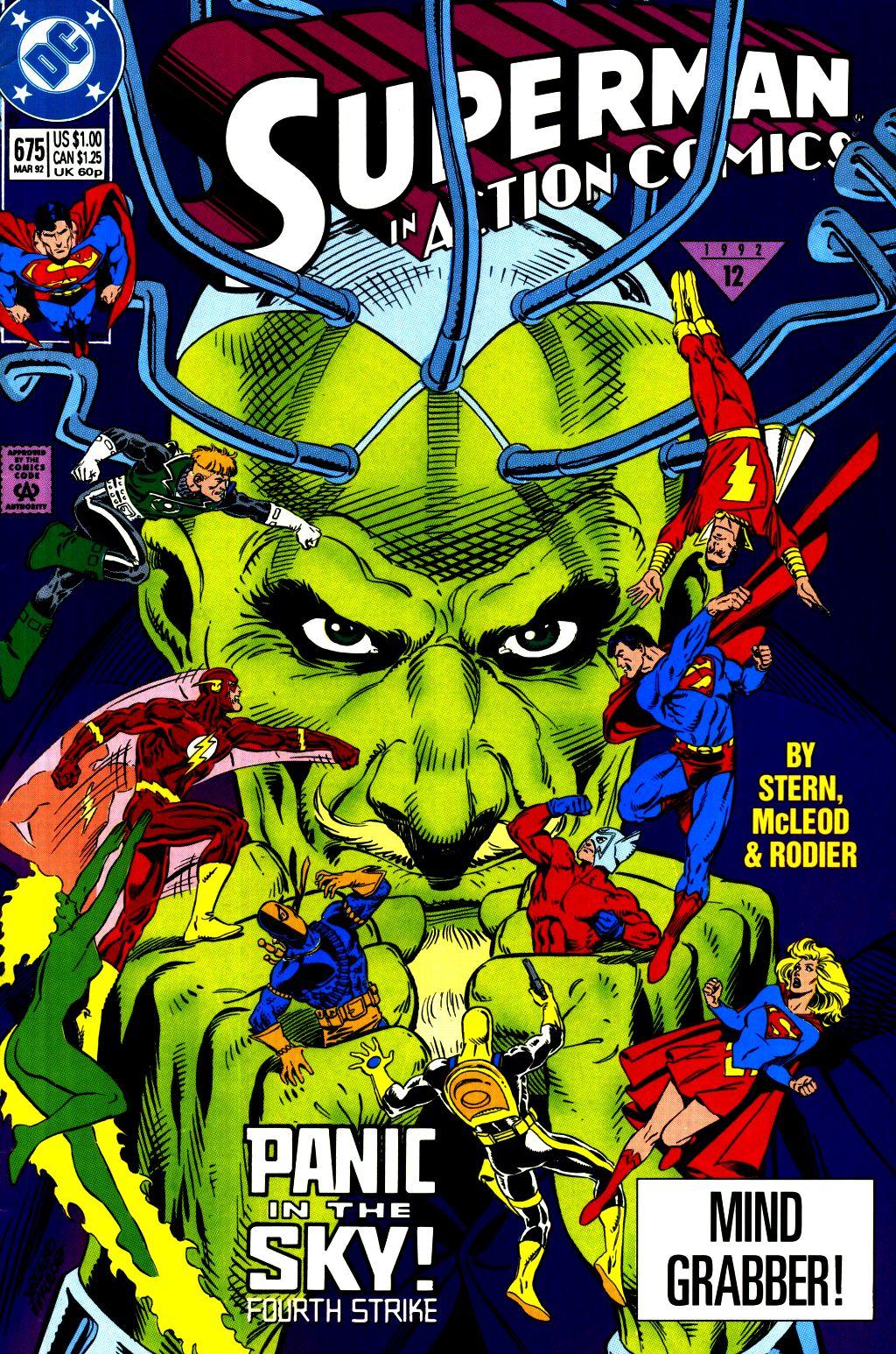 Action Comics (1938) 675 Page 1