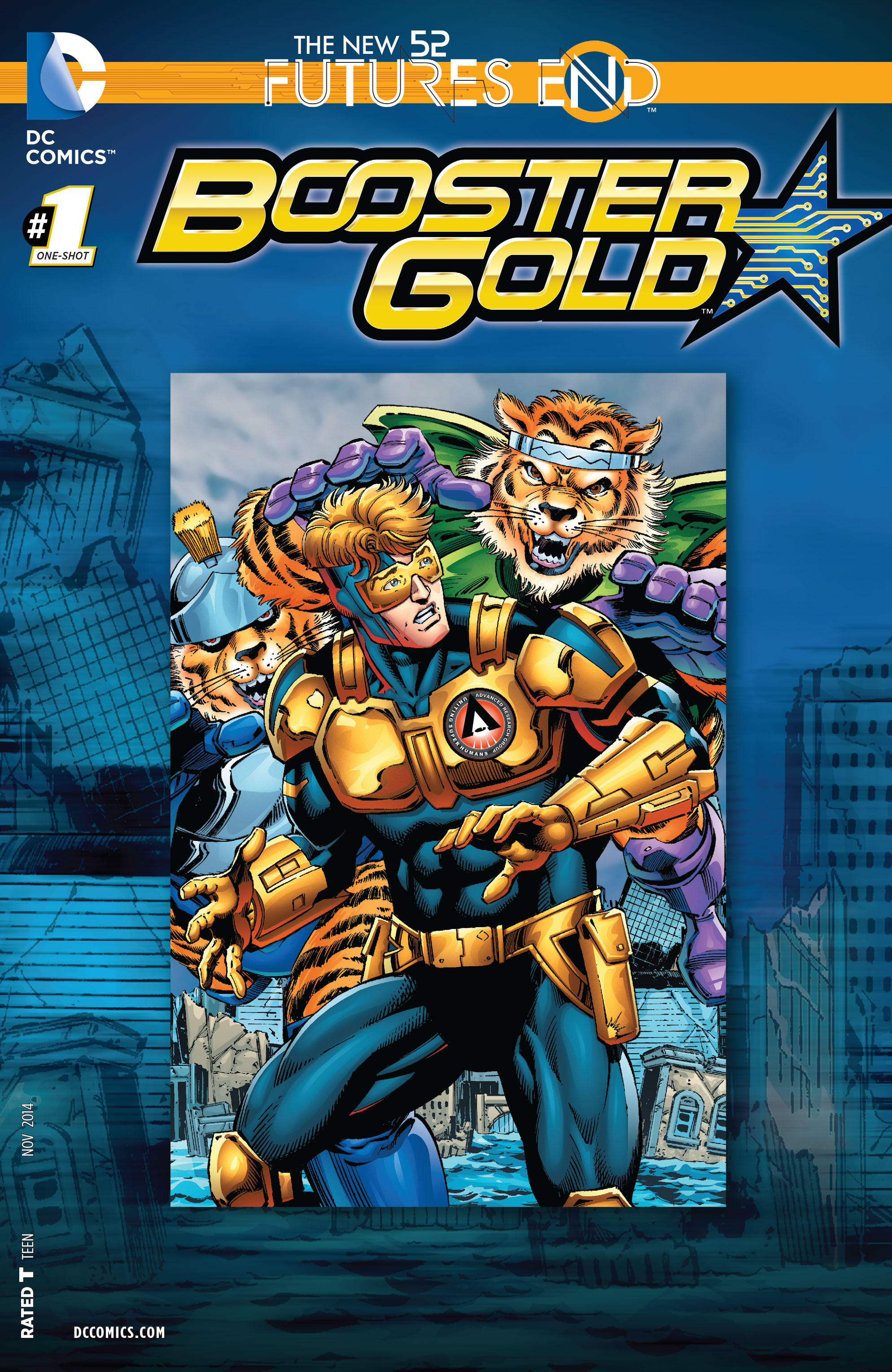 Read online Booster Gold: Futures End comic -  Issue # Full - 1