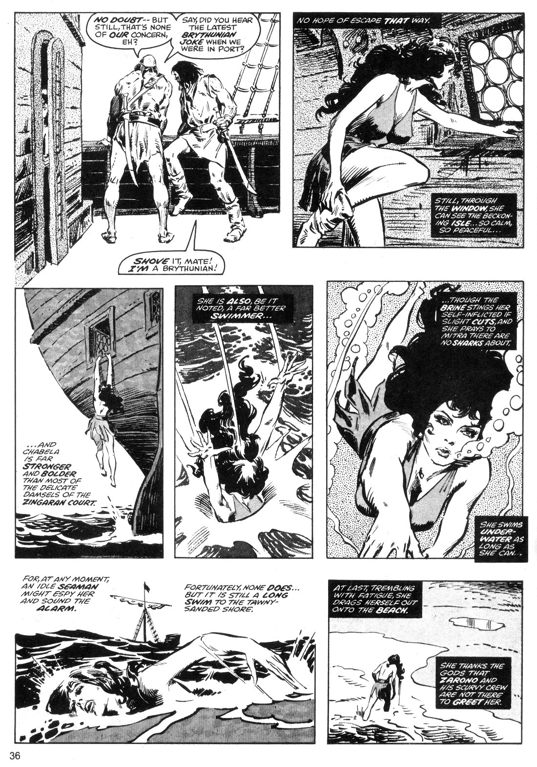 The Savage Sword Of Conan Issue #40 #41 - English 36