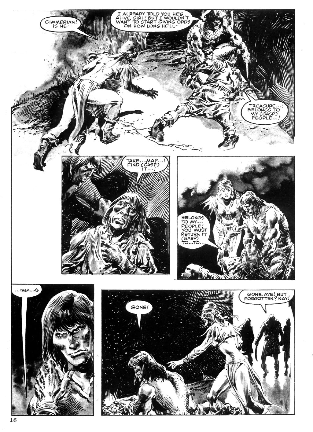 The Savage Sword Of Conan Issue #98 #99 - English 16