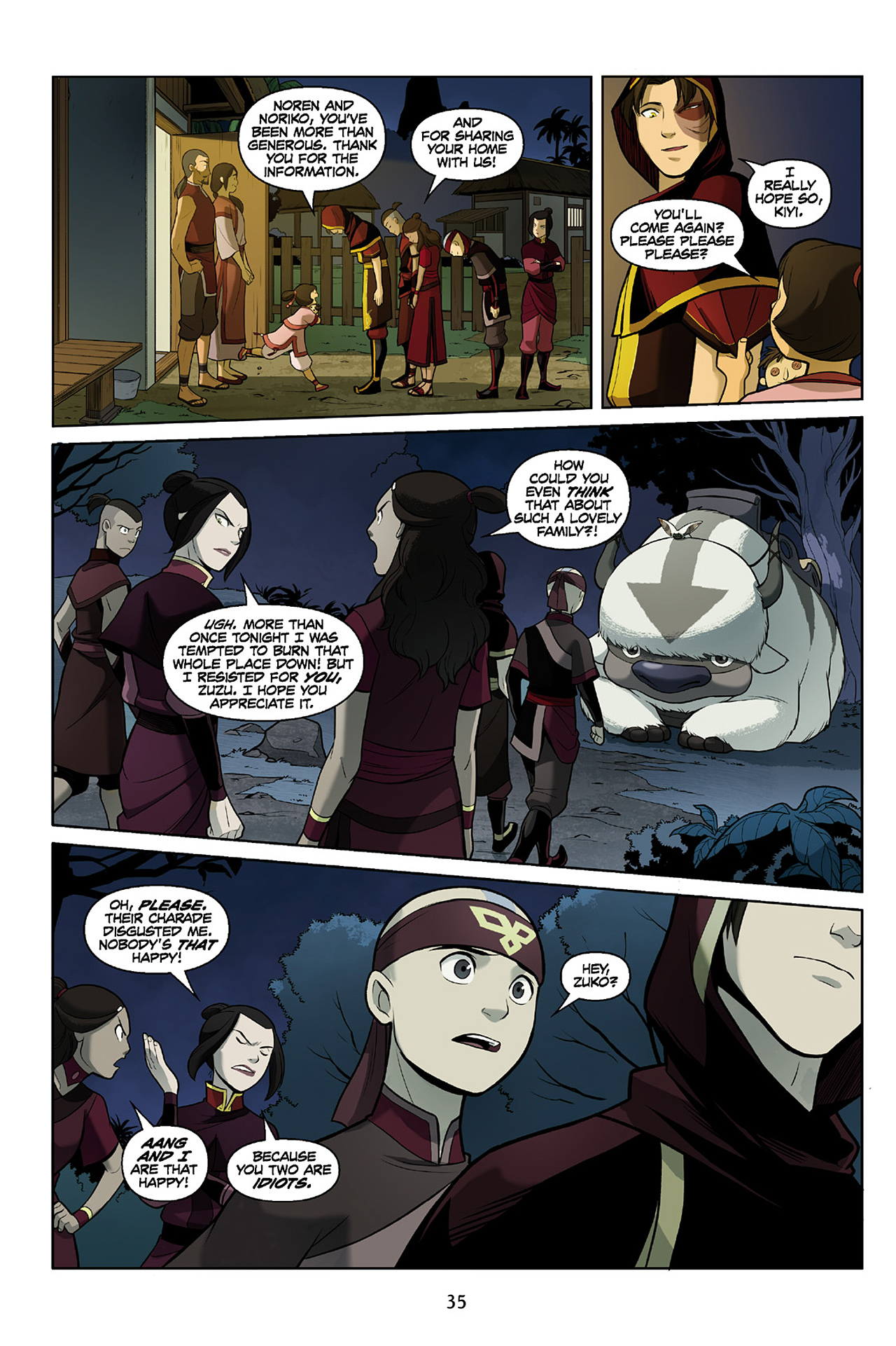 Read online Nickelodeon Avatar: The Last Airbender - The Search comic -  Issue # Part 2 - 36