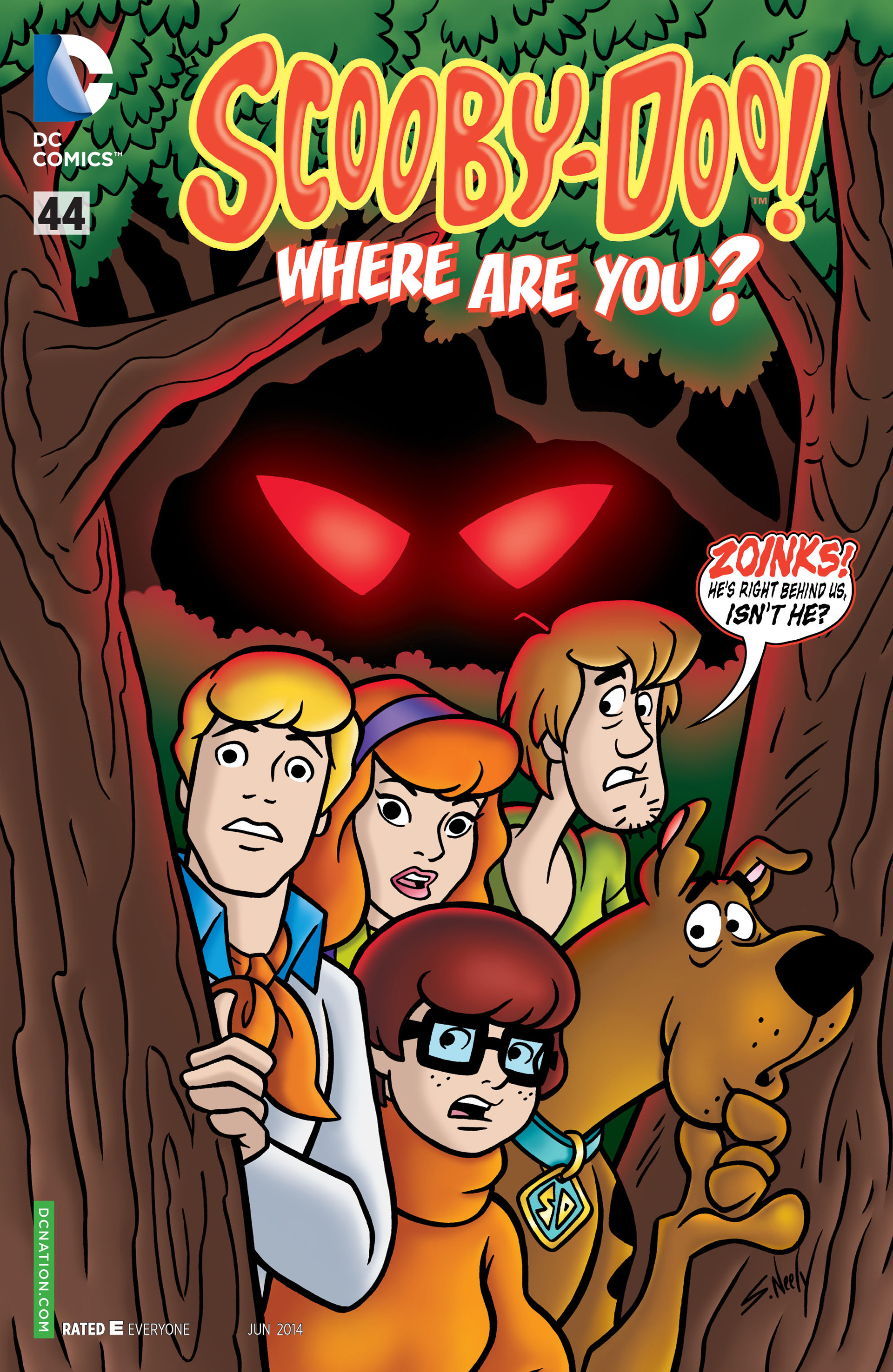 Read online Scooby-Doo: Where Are You? comic -  Issue #44 - 1