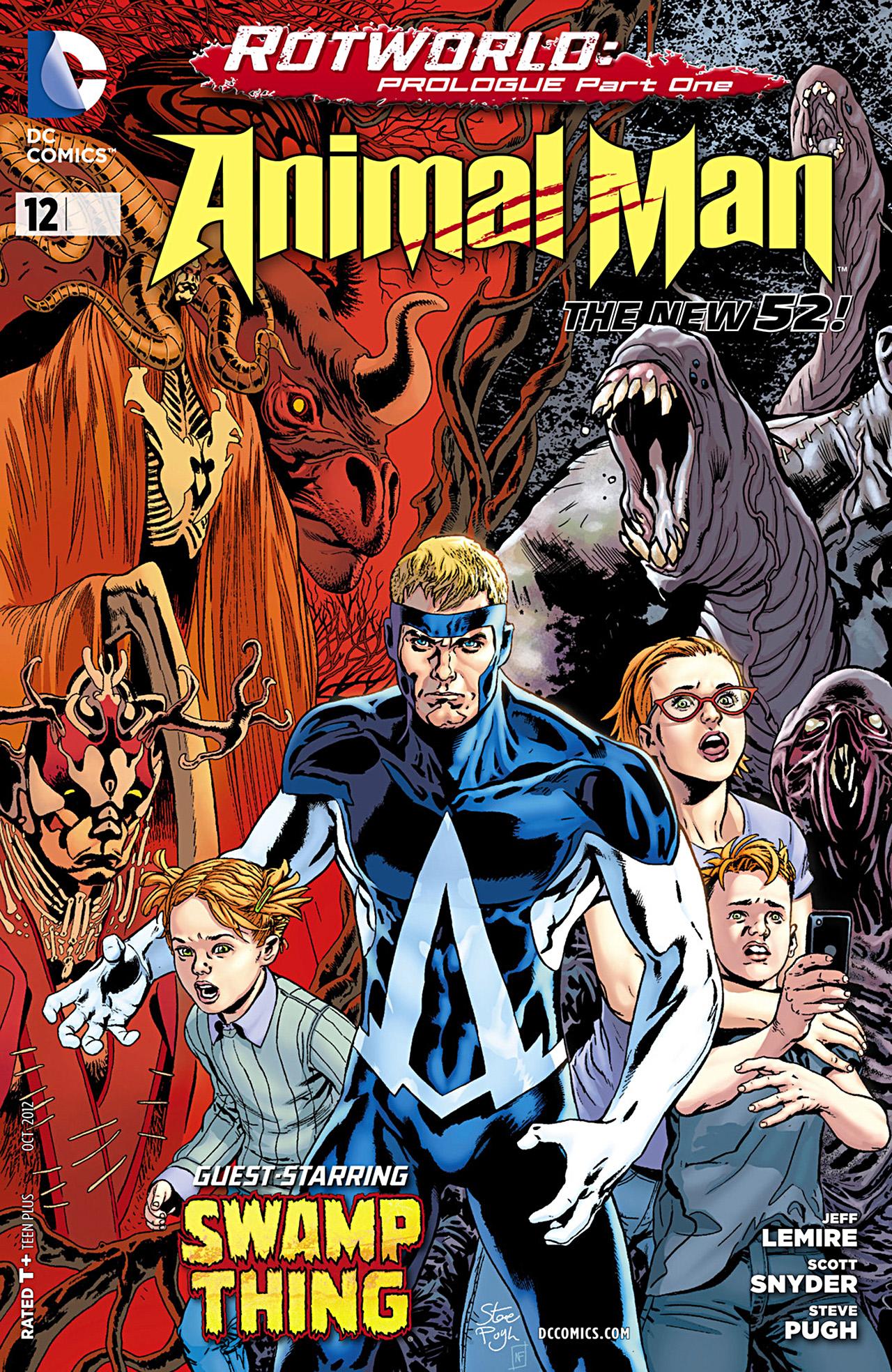 Read online Animal Man (2011) comic -  Issue #12 - 1