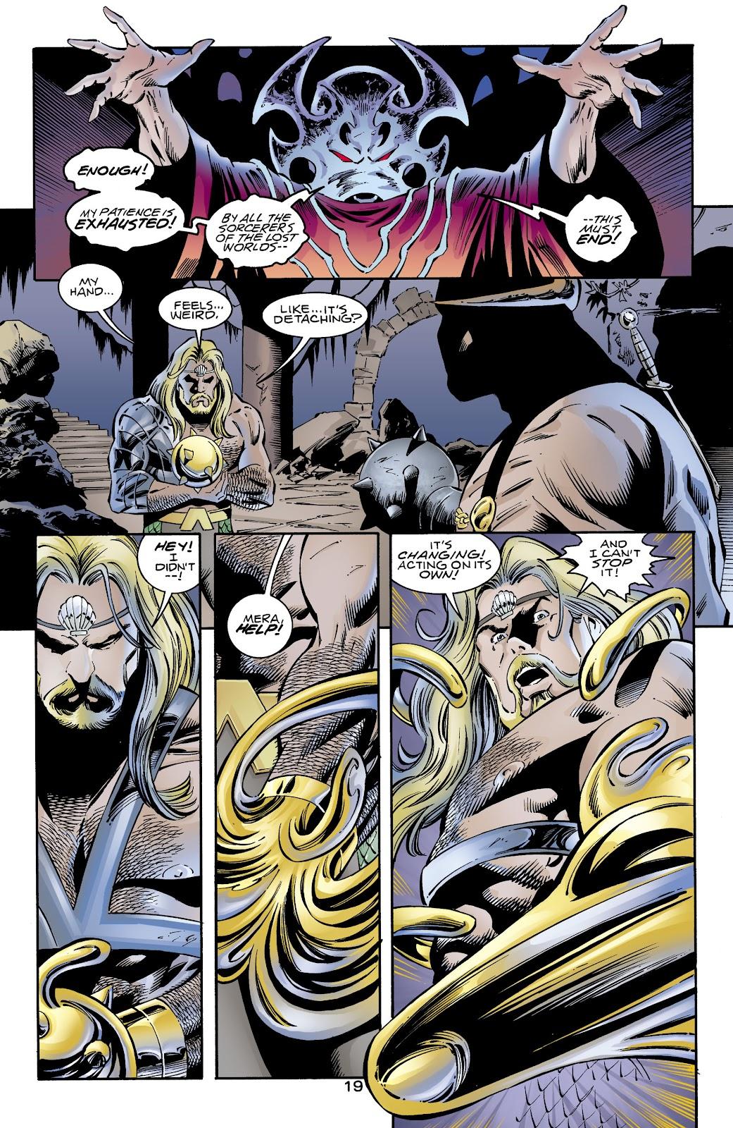 Aquaman (1994) Issue #72 #78 - English 18