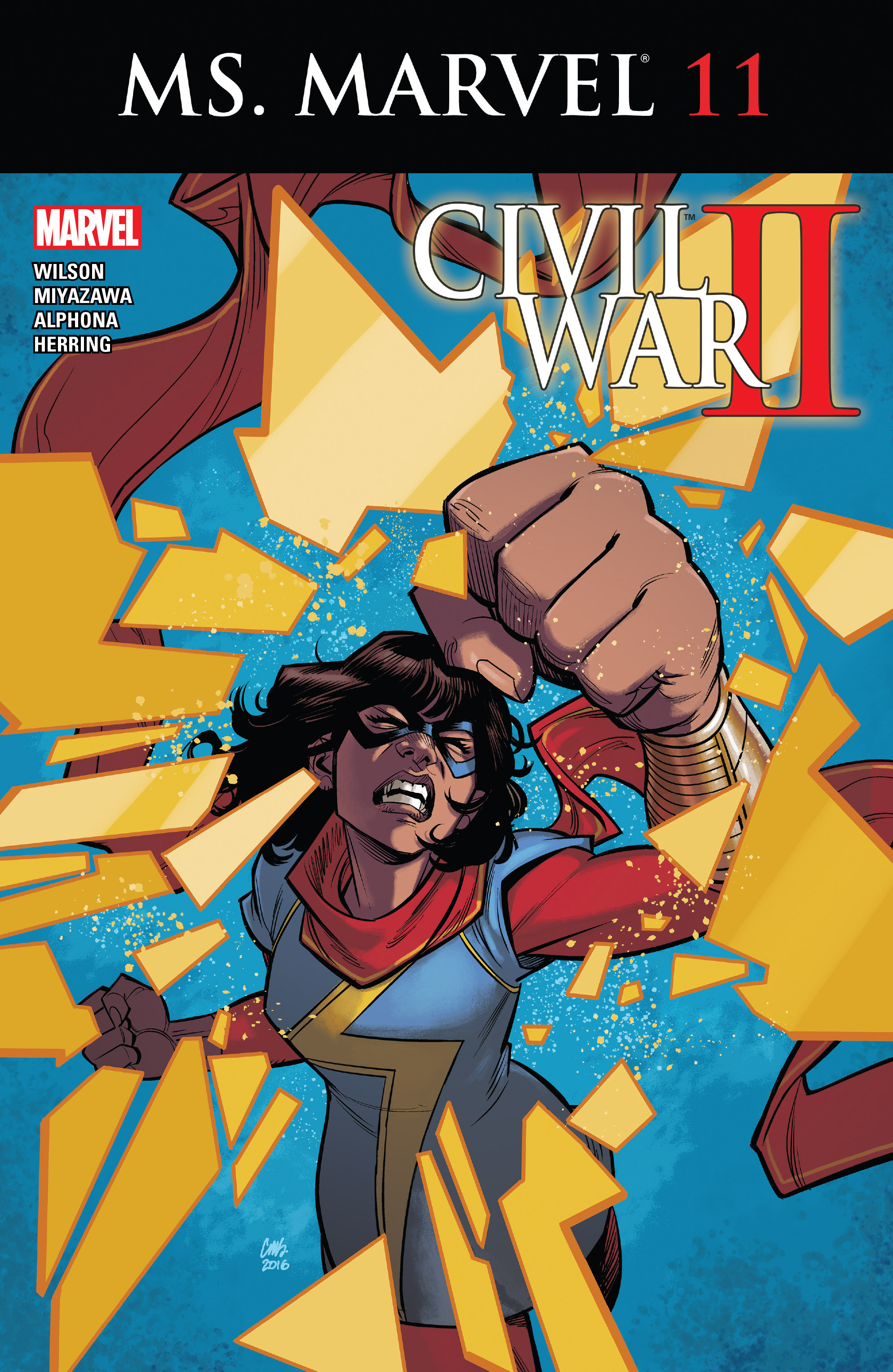 Ms. Marvel (2016) issue 11 - Page 1