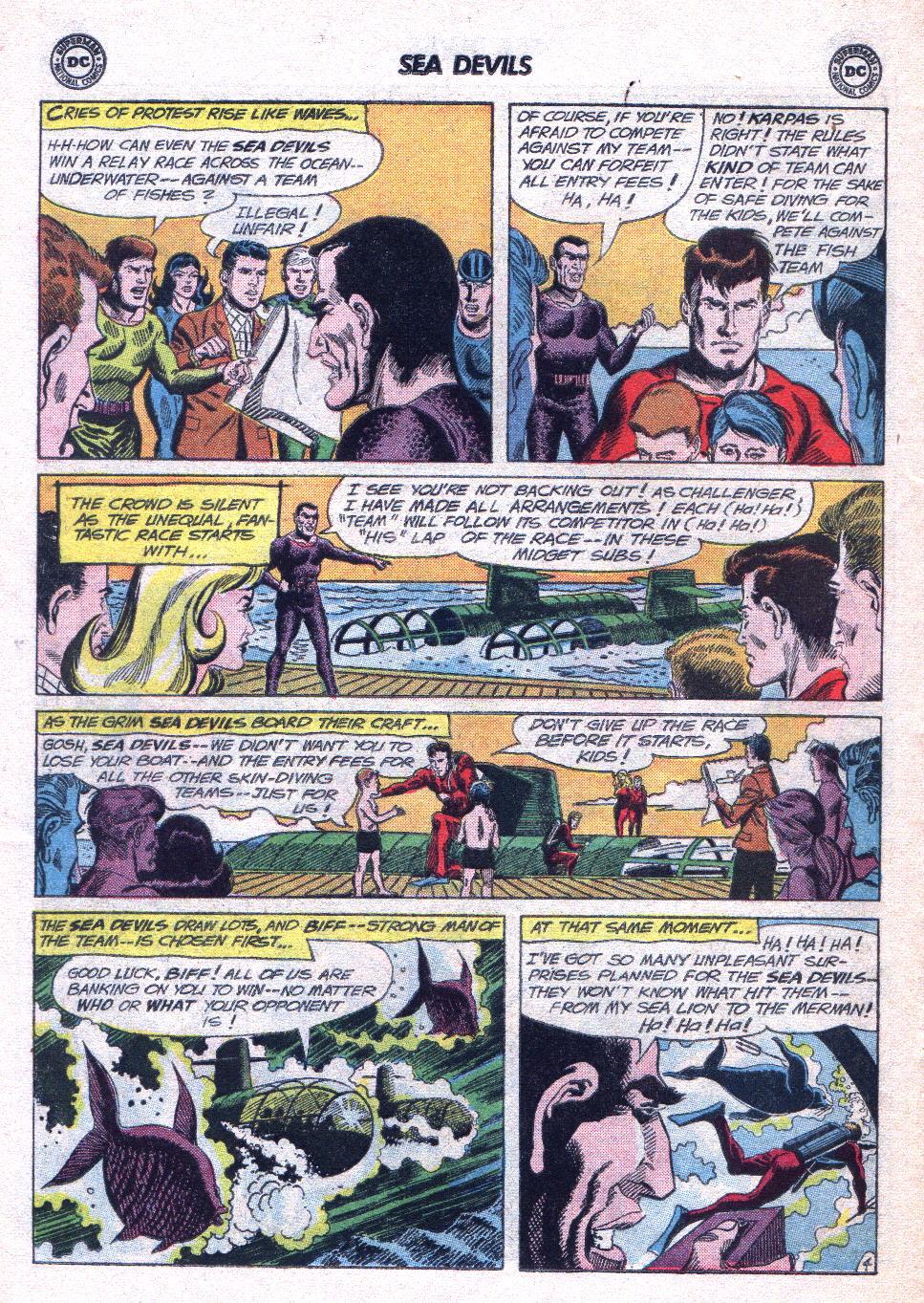 Read online Sea Devils comic -  Issue #14 - 22