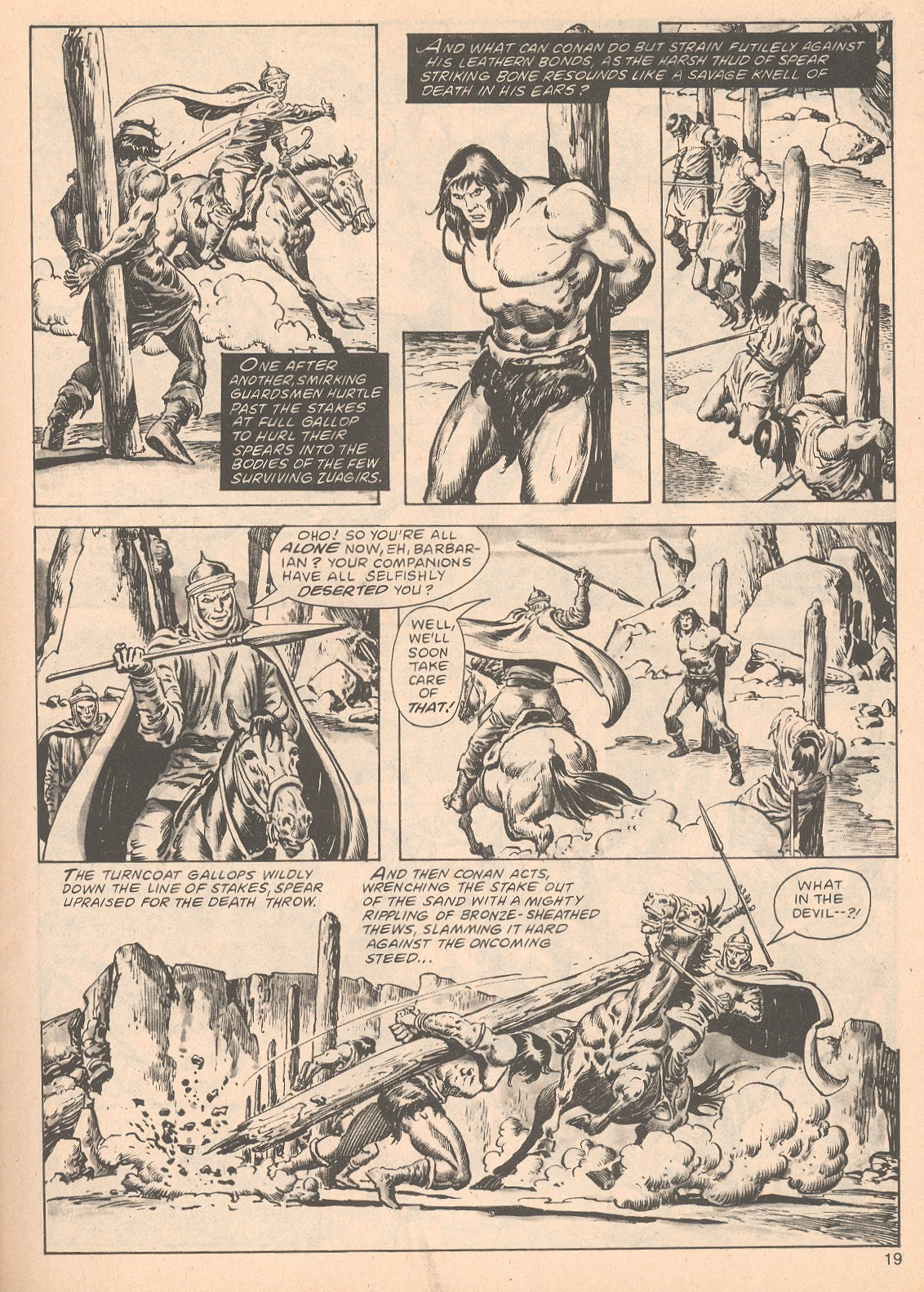 The Savage Sword Of Conan Issue #63 #64 - English 19