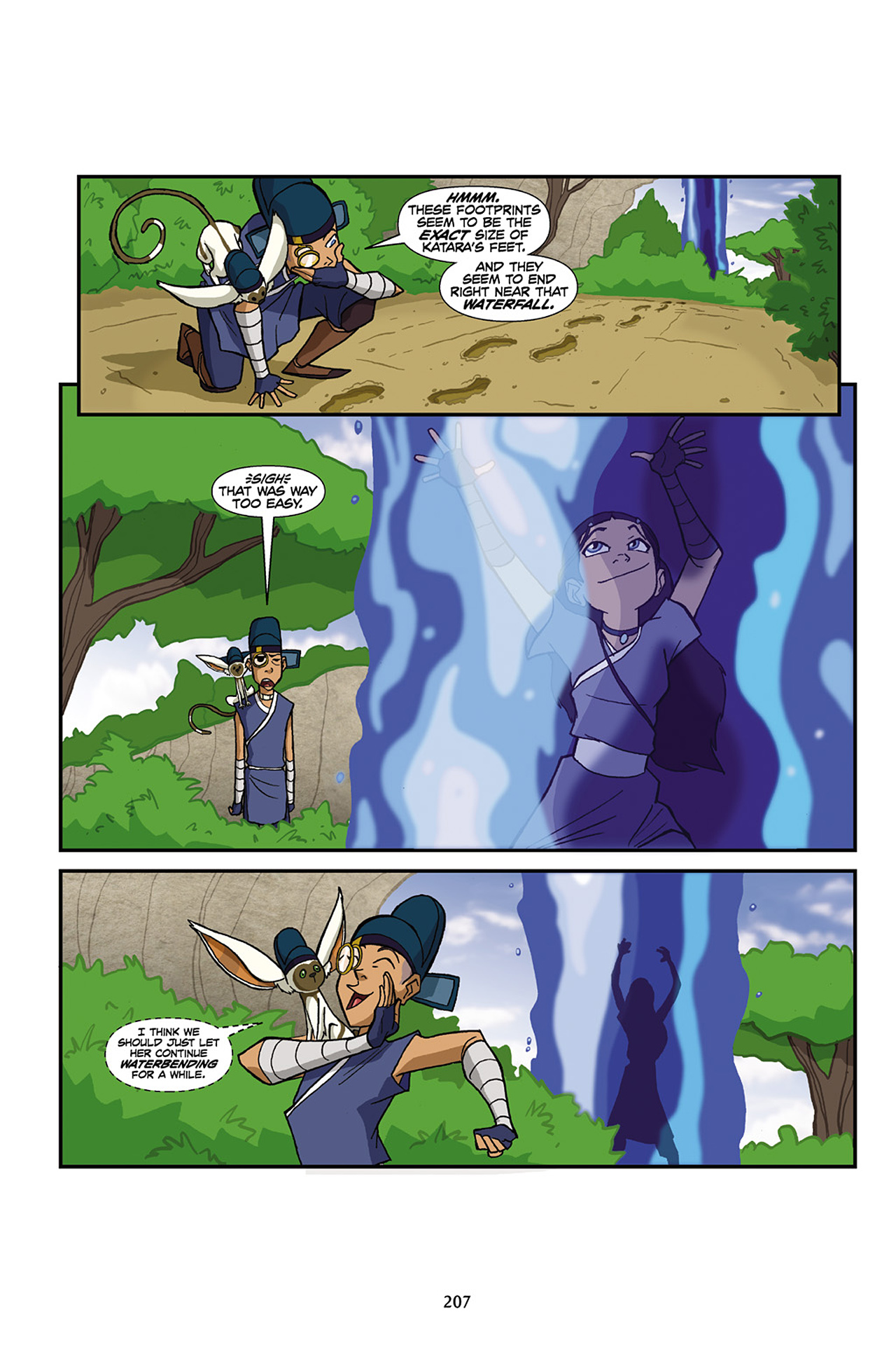 Nickelodeon Avatar: The Last Airbender - The Lost Adventures chap full pic 208