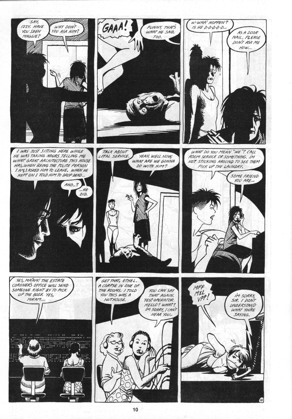 Love and Rockets (1982) Issue #4 #3 - English 12