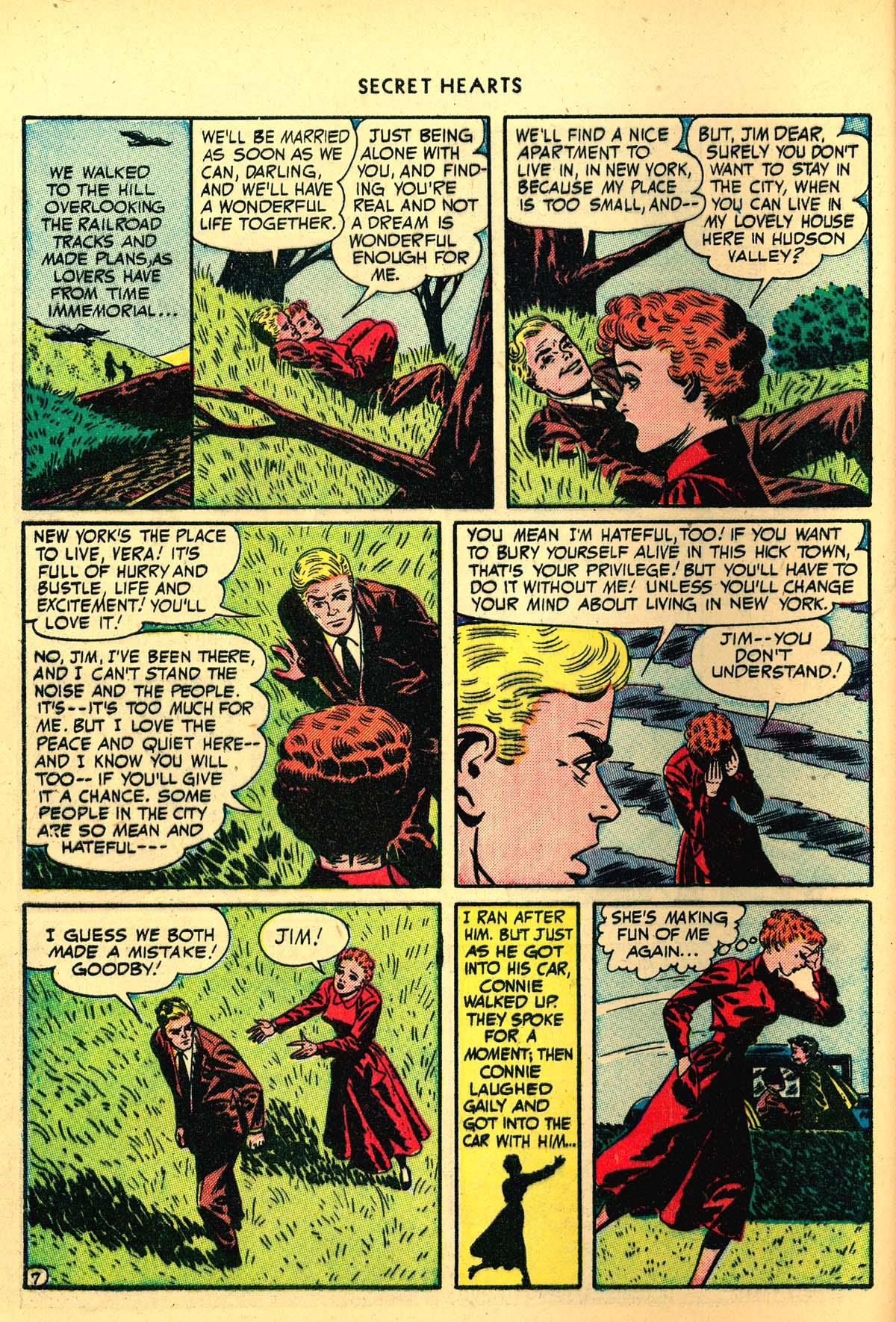 Read online Secret Hearts comic -  Issue #4 - 46