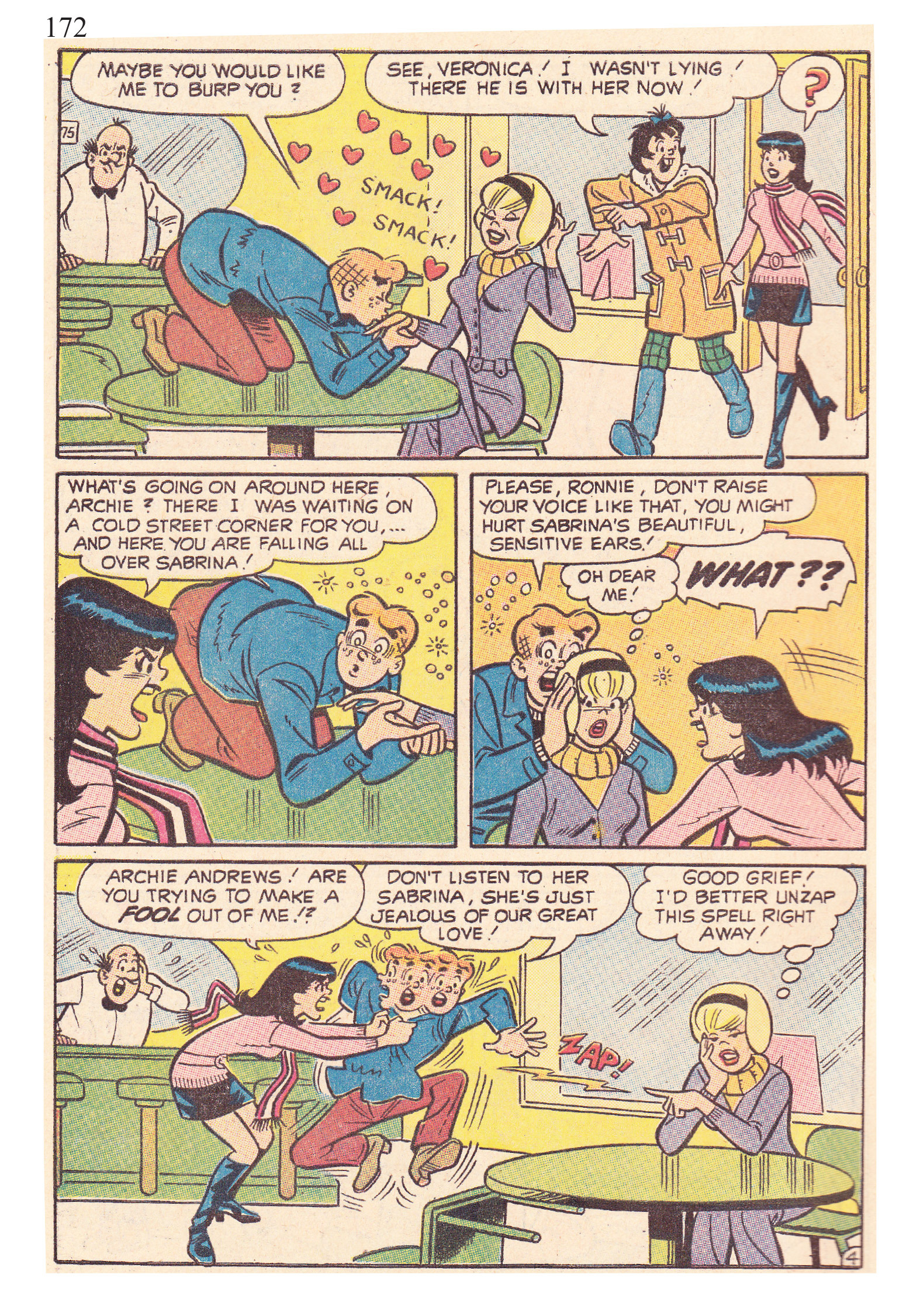 Read online The Best of Archie Comics comic -  Issue # TPB 2 (Part 1) - 174