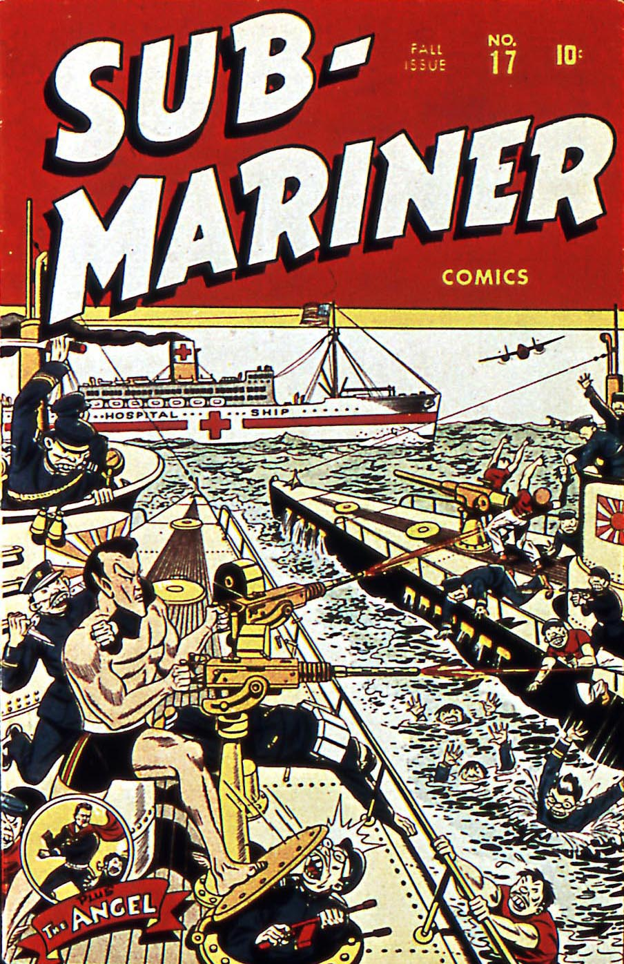 Sub-Mariner Comics 17 Page 1