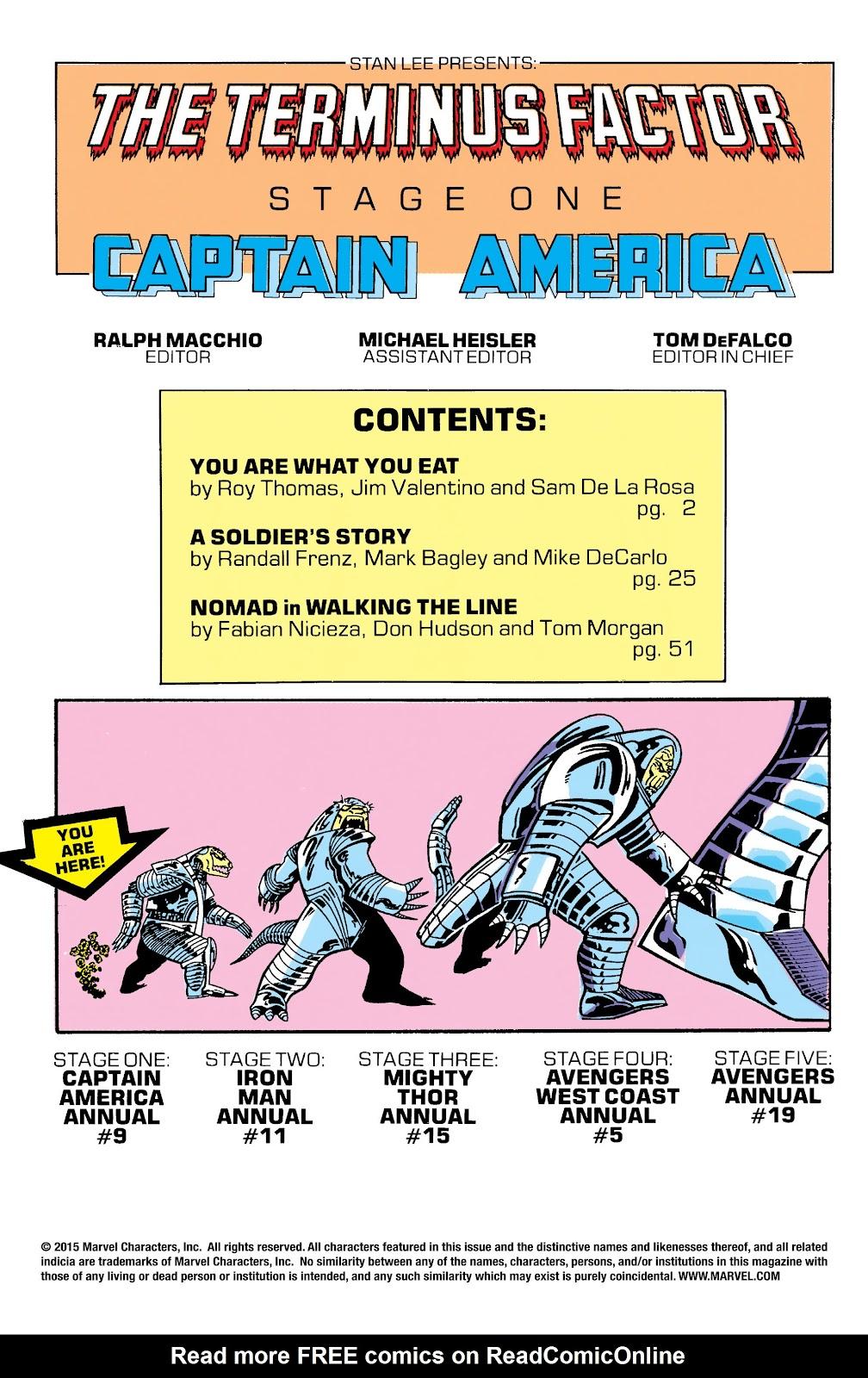 Captain America (1968) _Annual 9 #9 - English 2