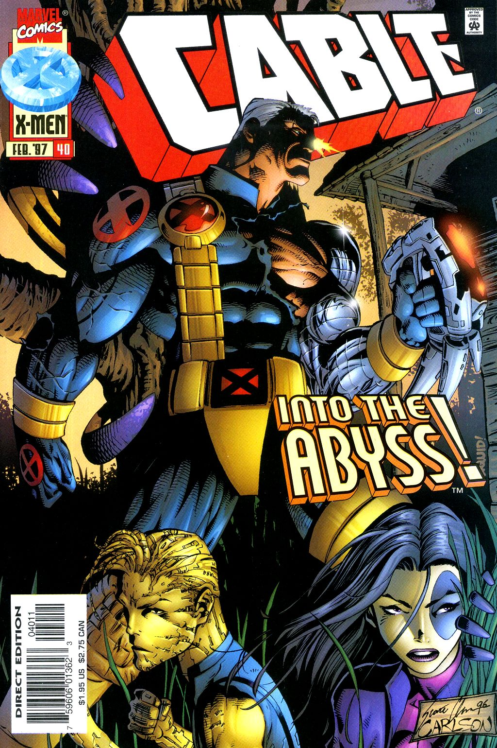 Cable (1993) 40 Page 1